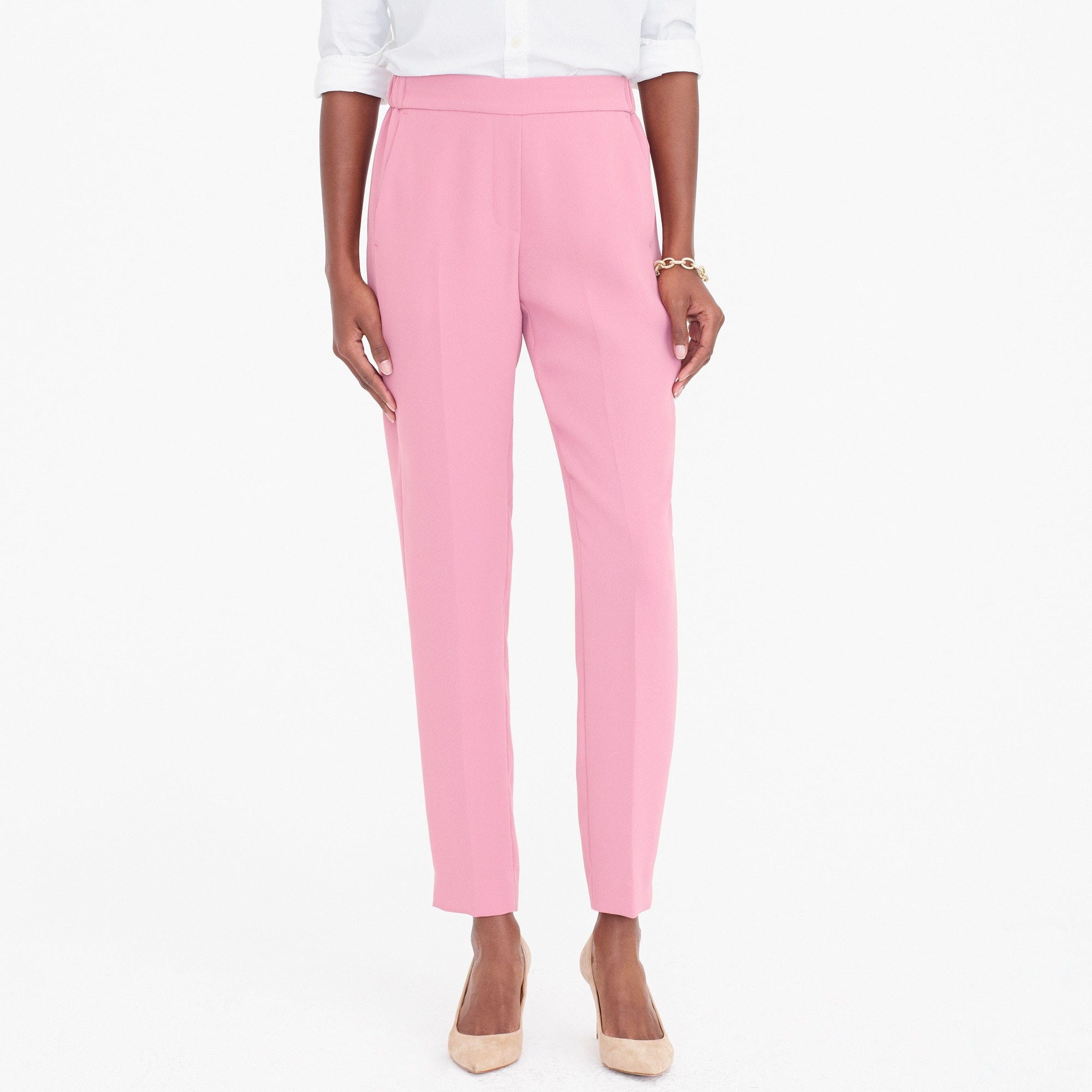 drapey pull-on pant : factorywomen relaxed