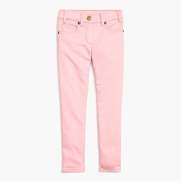 j.crew factory: girls' anywhere jean