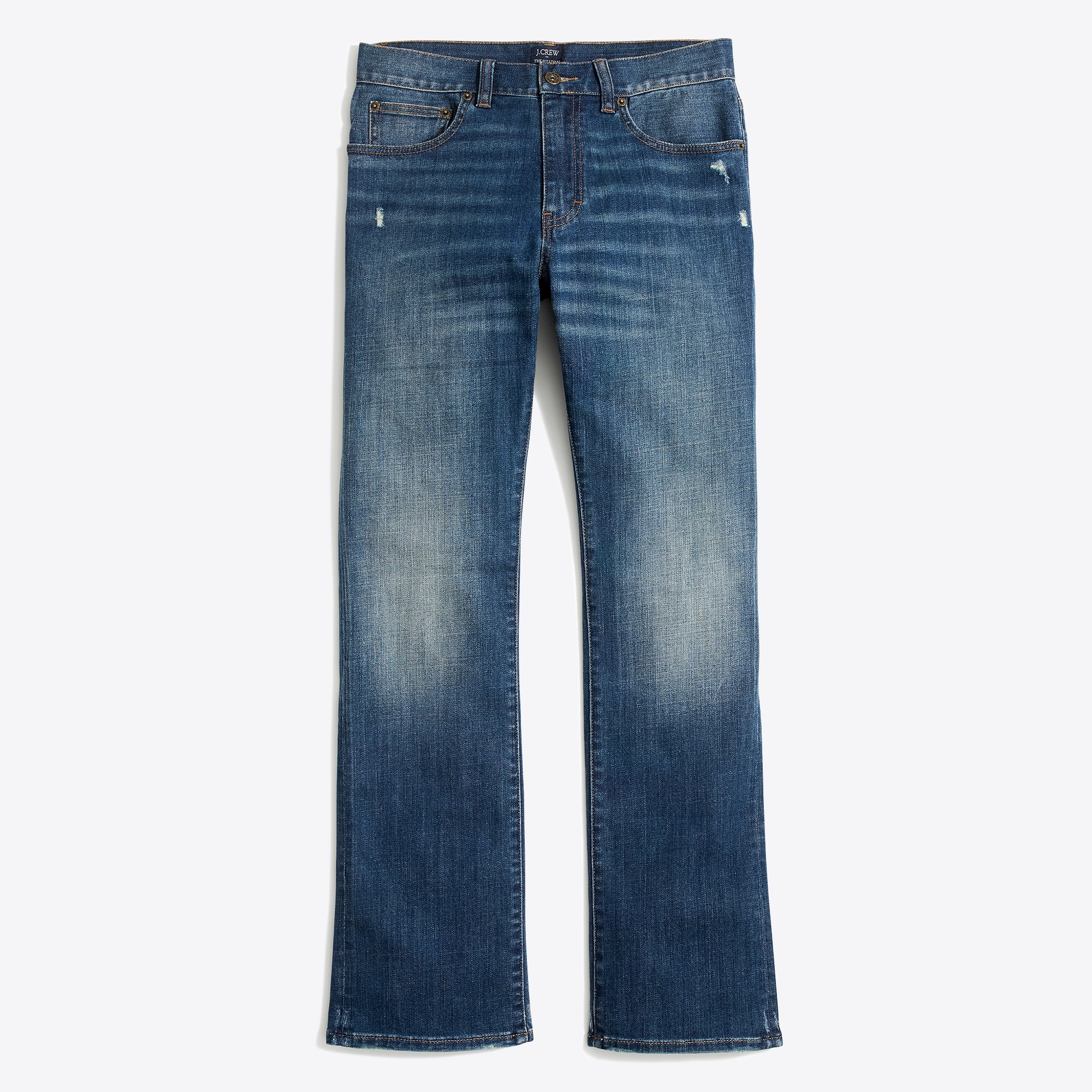 stretch sullivan jean in austin wash : factorymen bootcut
