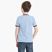 Image 3 for Boys' contrast ringer t-shirt in supersoft jersey