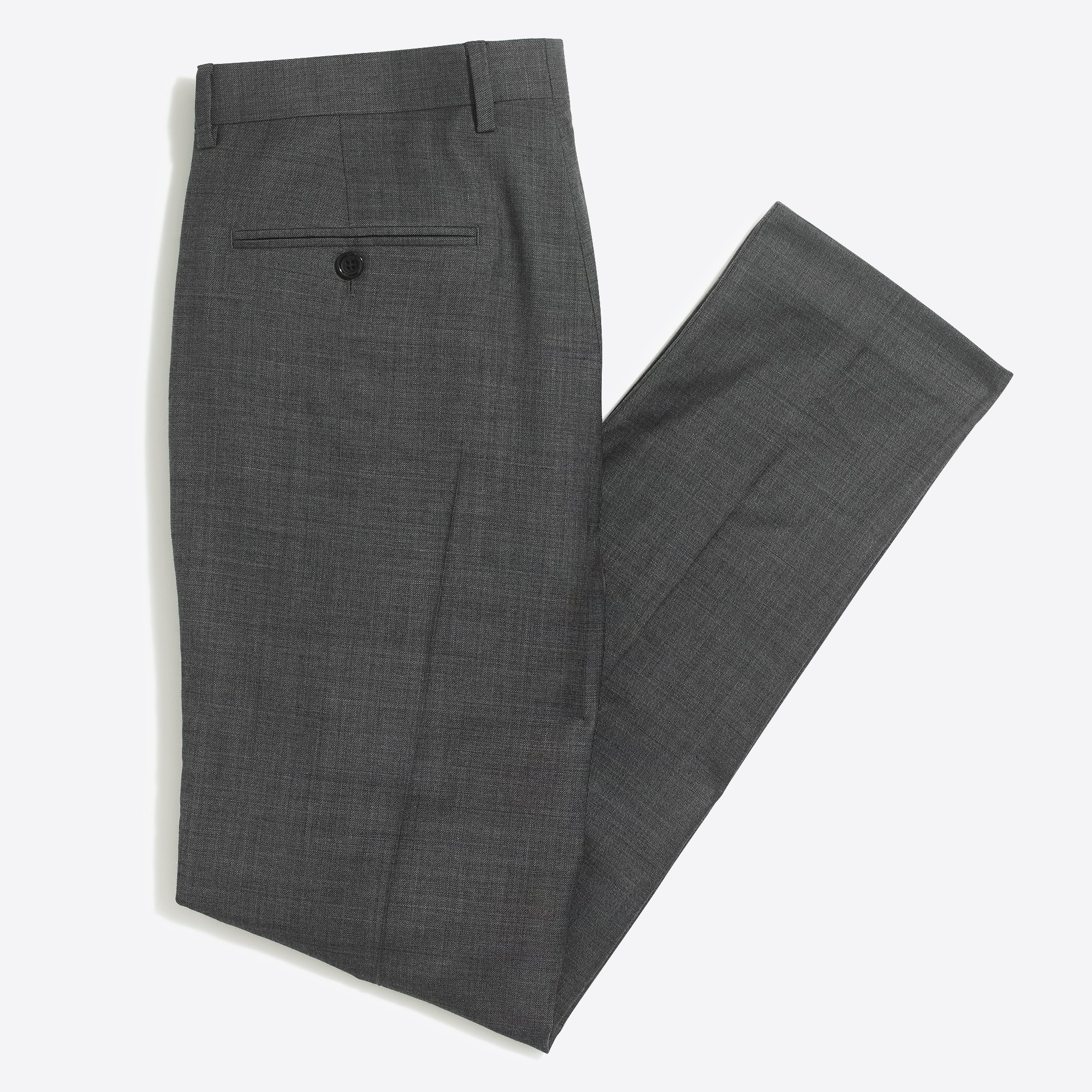 Image 3 for Classic-fit Thompson suit pant in worsted wool