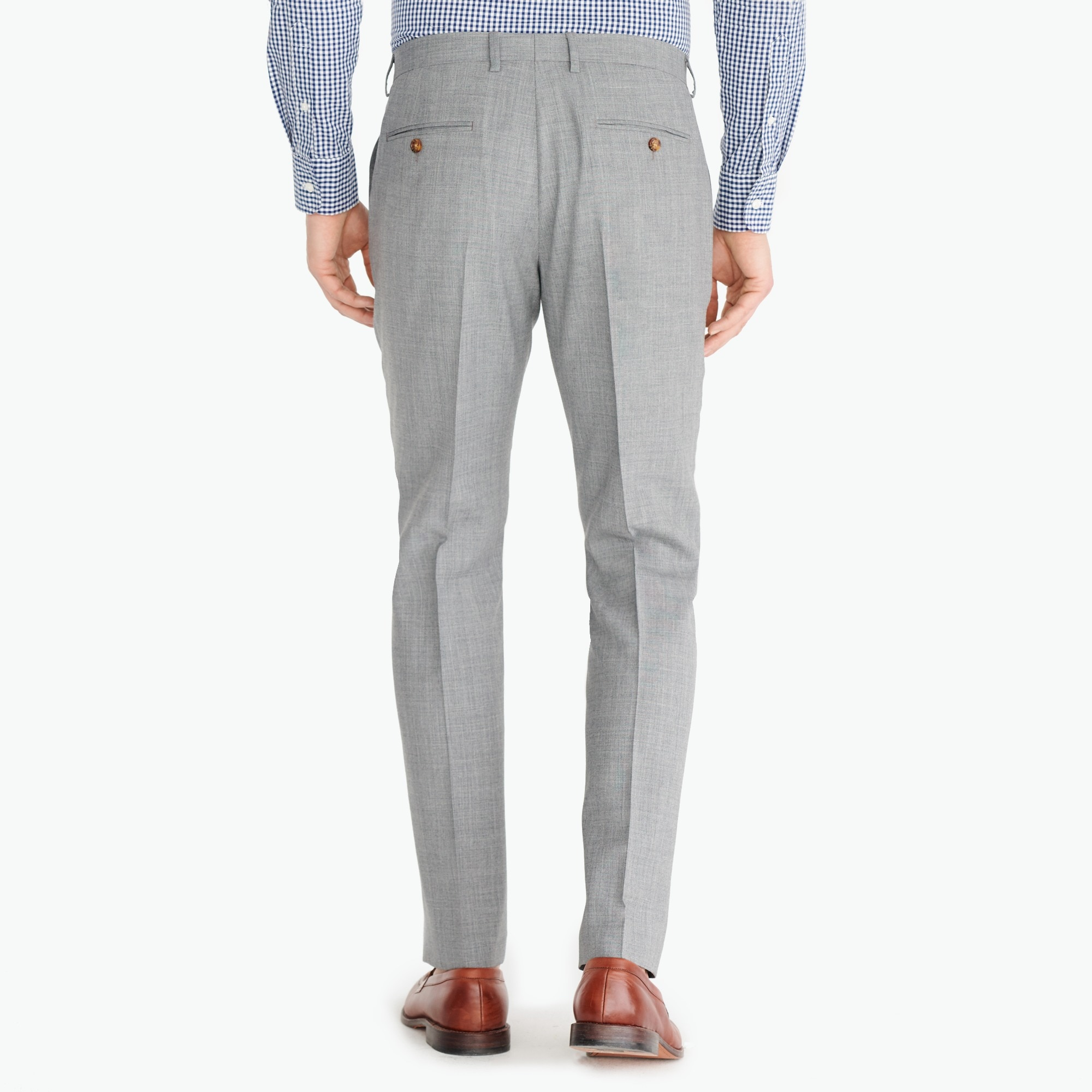 Classic-fit Thompson suit pant in Voyager wool