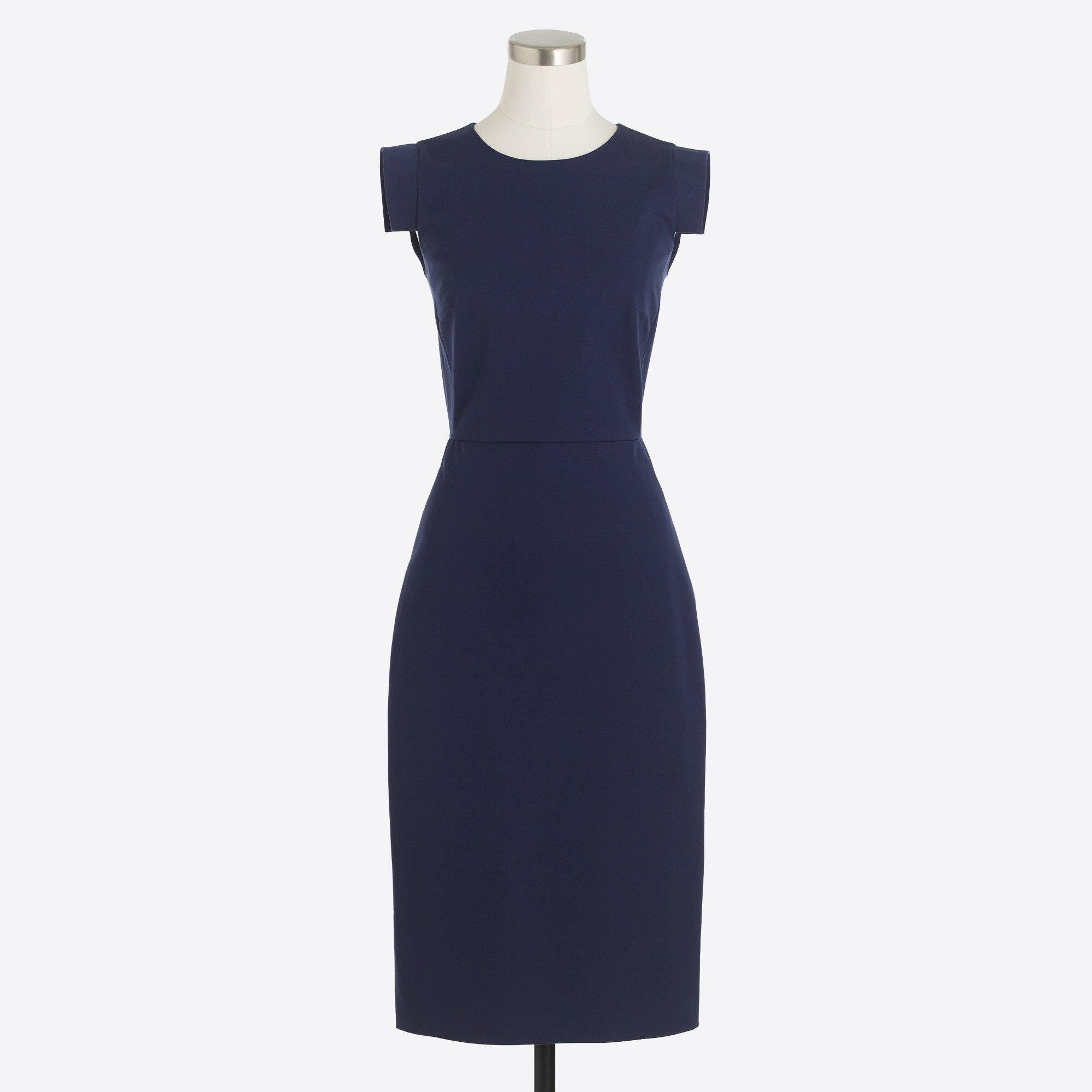 Image 2 for Cap-sleeve sheath dress