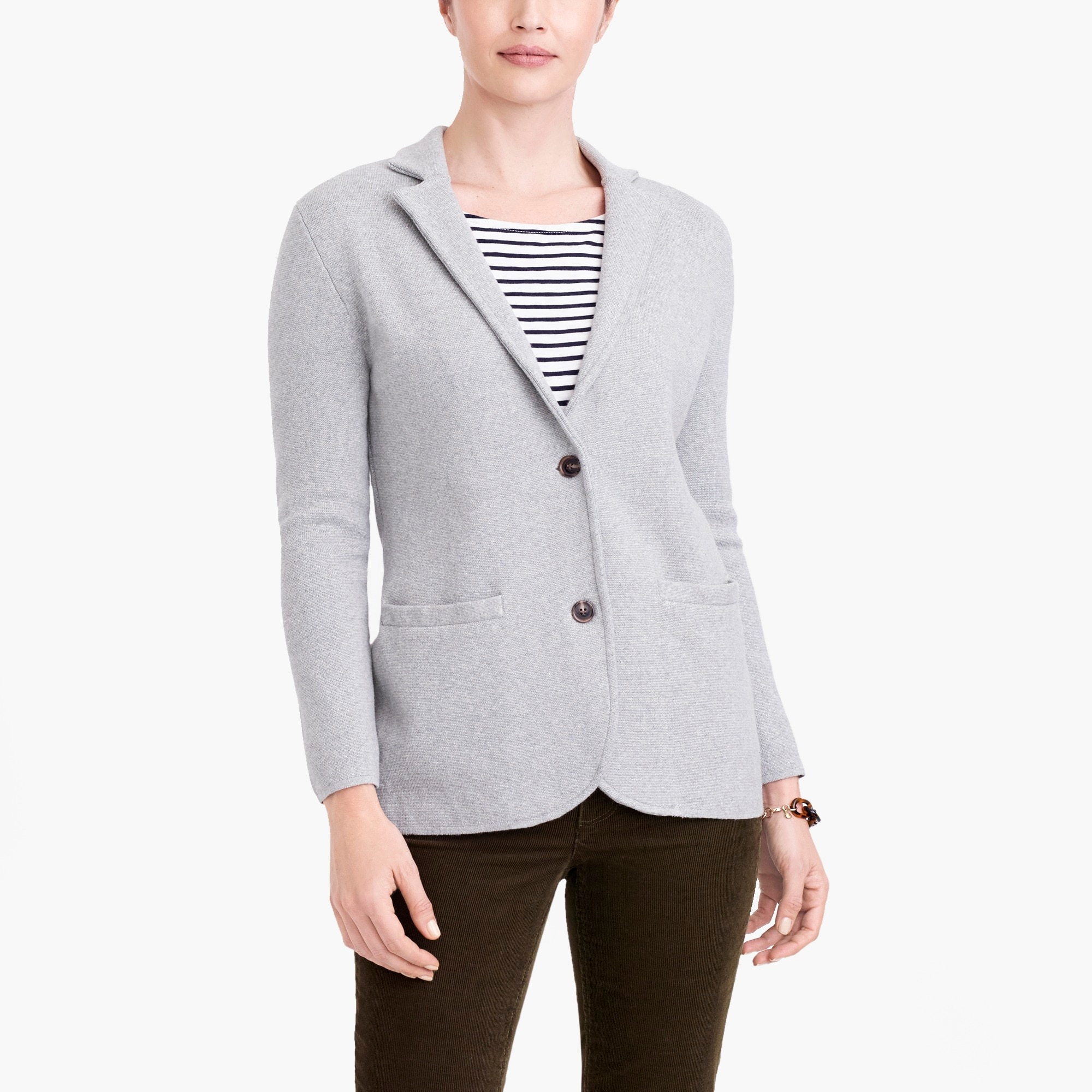 factory womens Sweater-blazer