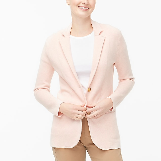 j.crew factory: sweater-blazer