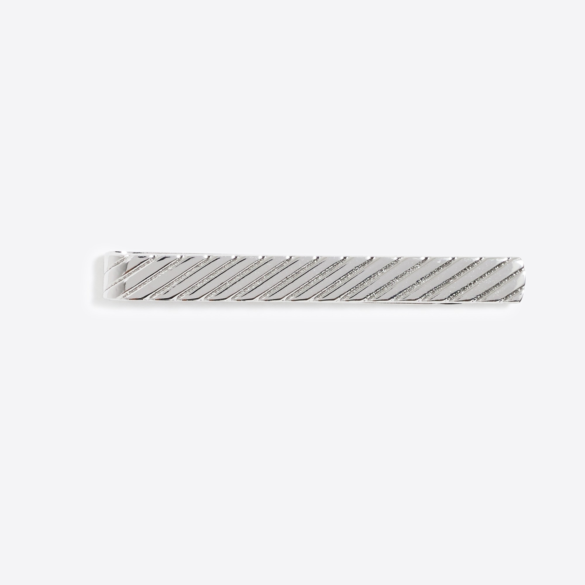 factory mens Striped tie bar