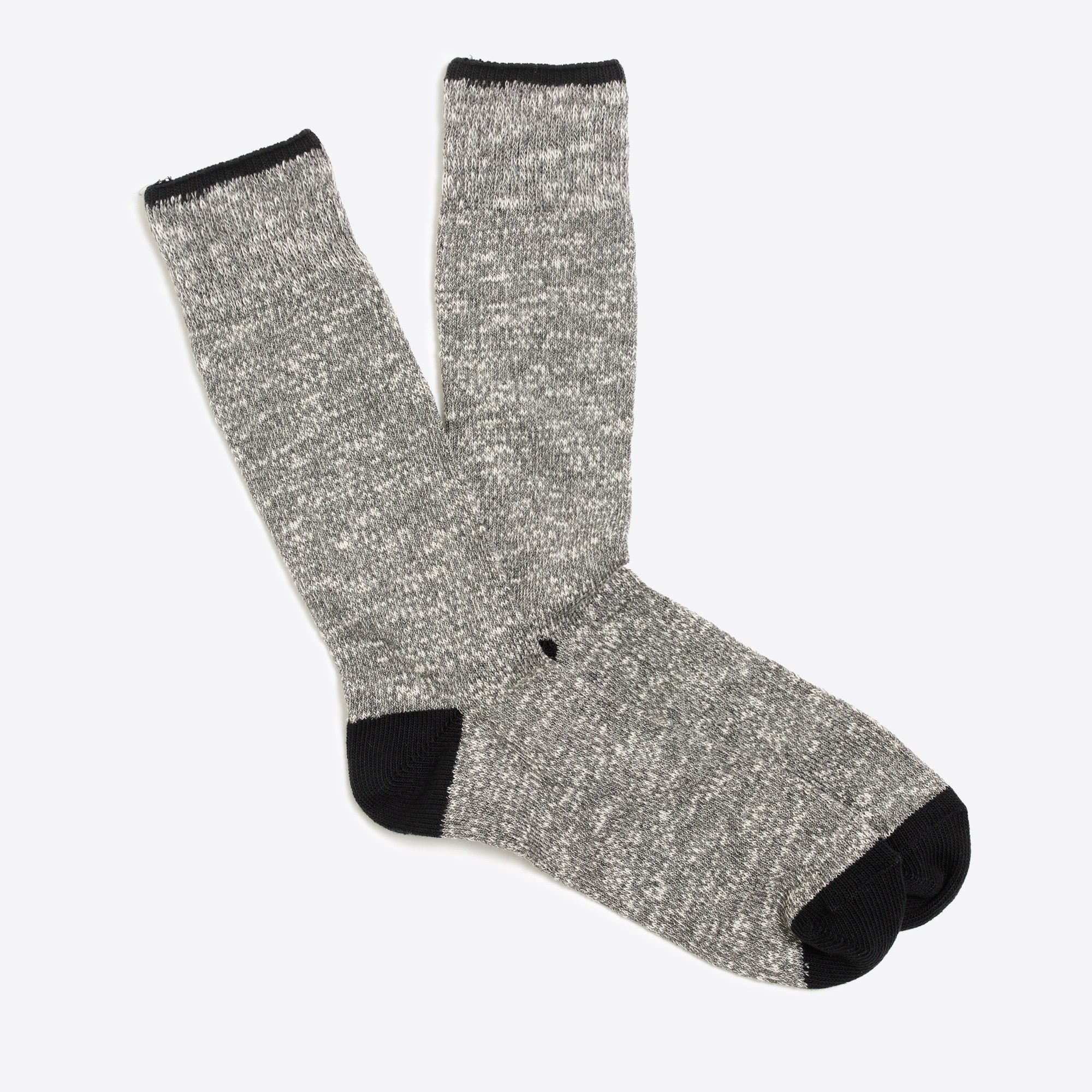 marled-cotton tipped socks : factorymen seasonal