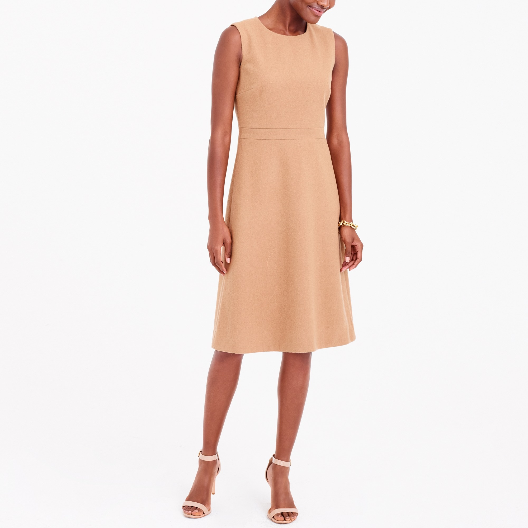 a-line wool dress : factorywomen wear to work