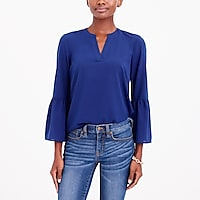 Image 1 for Petite Bell-sleeve top