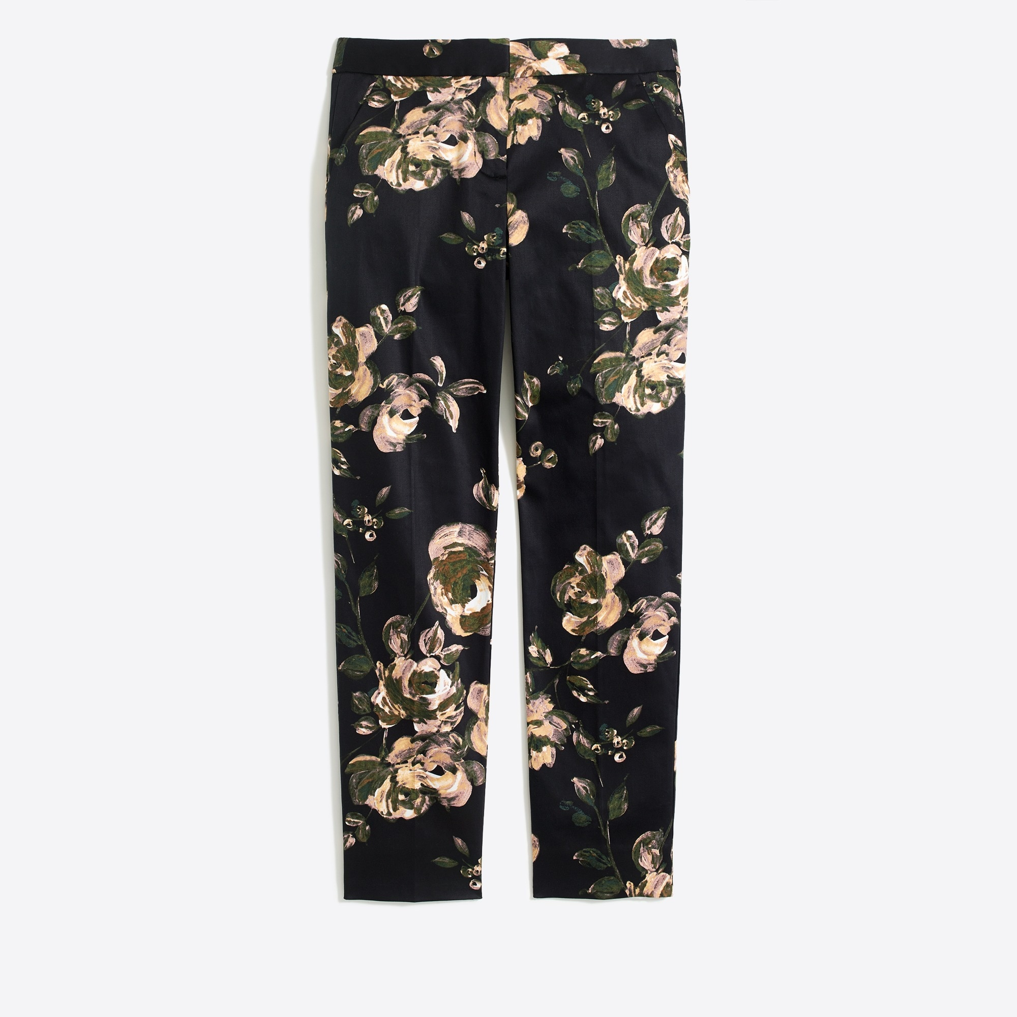 Image 2 for Slim crop printed pant