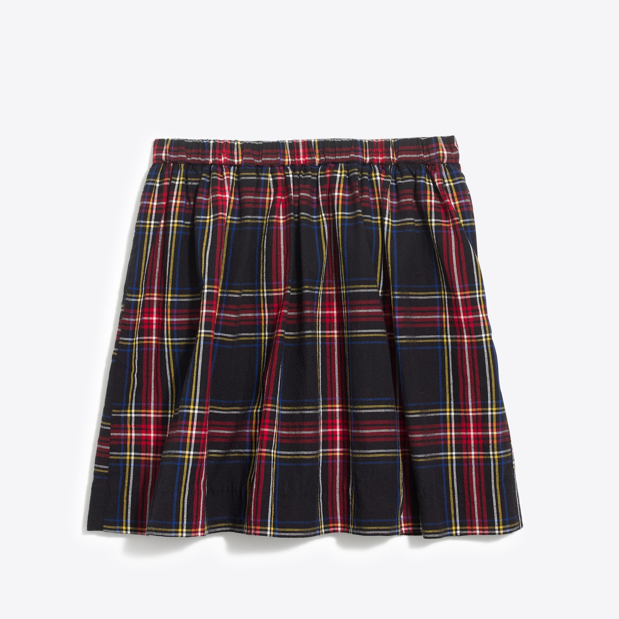 girls' stewart tartan plaid skirt : factorygirls skirts