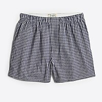 Image 1 for Navy gingham boxers