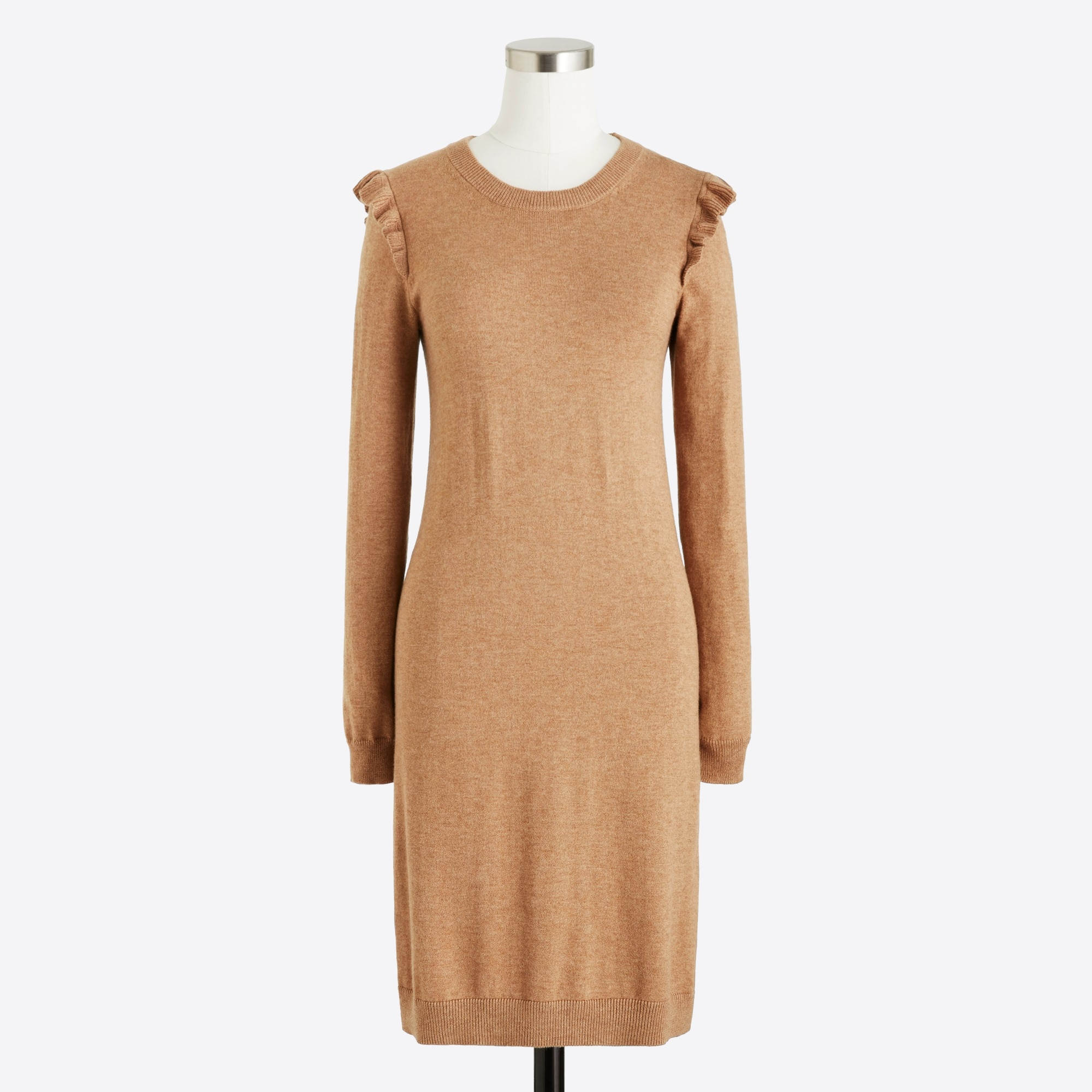 Image 2 for Ruffle-hem sweater dress