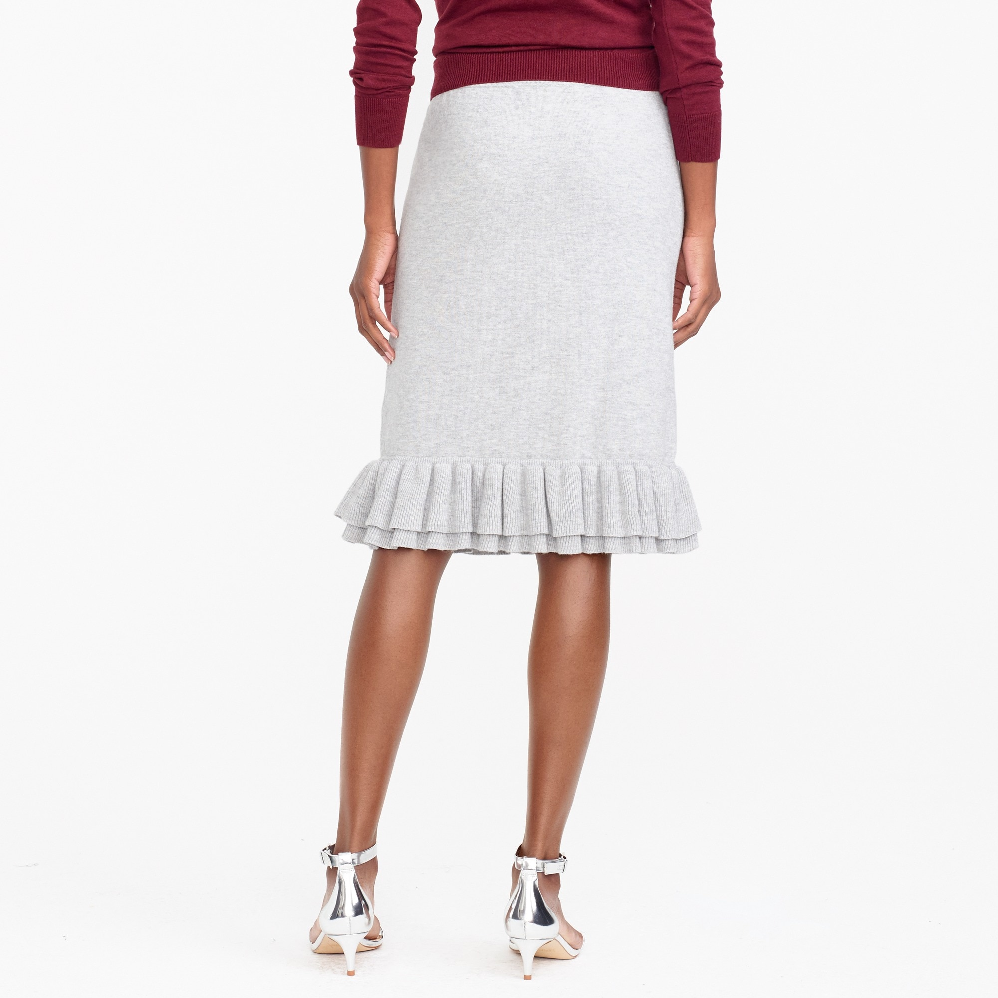 Image 3 for Ruffle sweater skirt