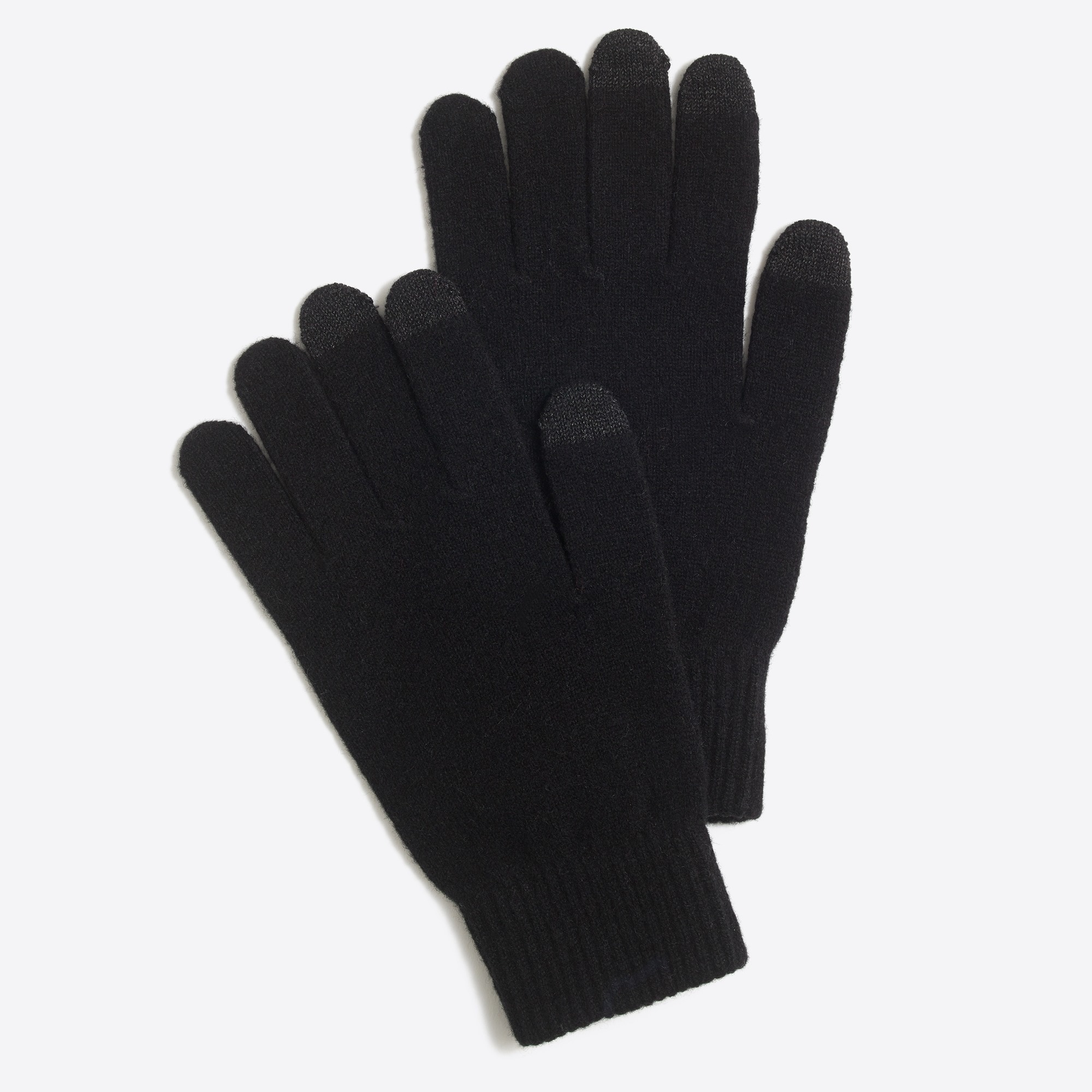 wool touch tech gloves :