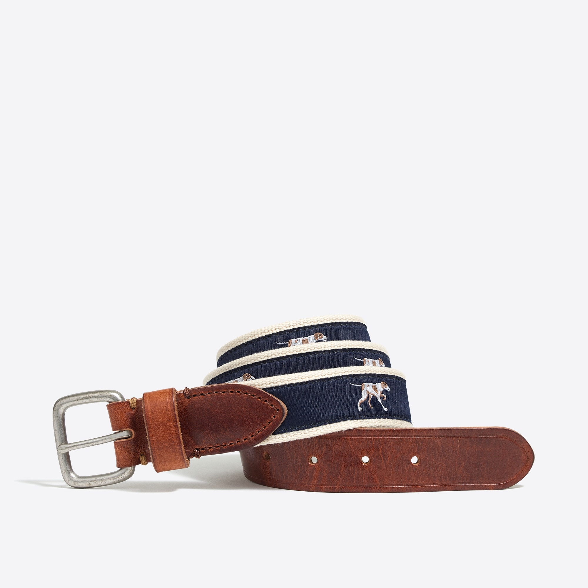j.crew factory: embroidered patterned belt