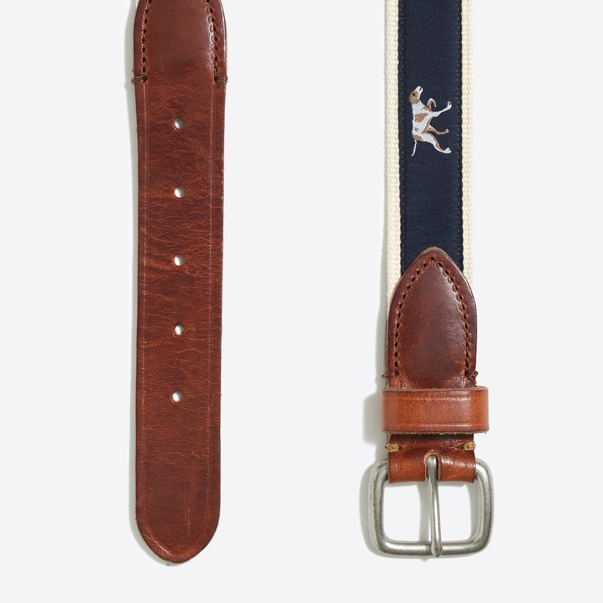 Image 2 for Embroidered patterned belt