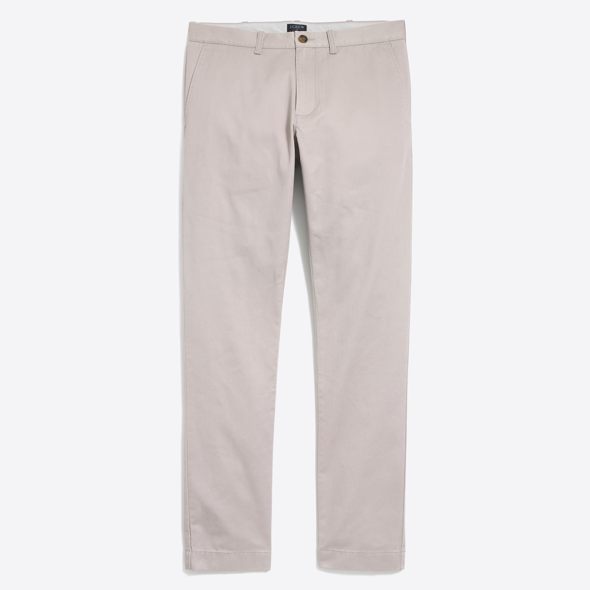 factory mens Slim-fit broken-in chino