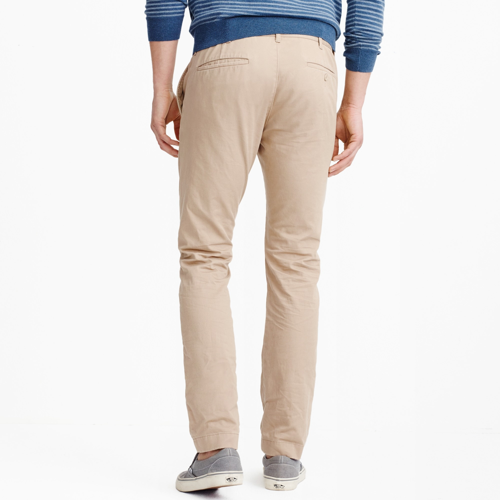 Image 4 for Slim-fit broken-in chino