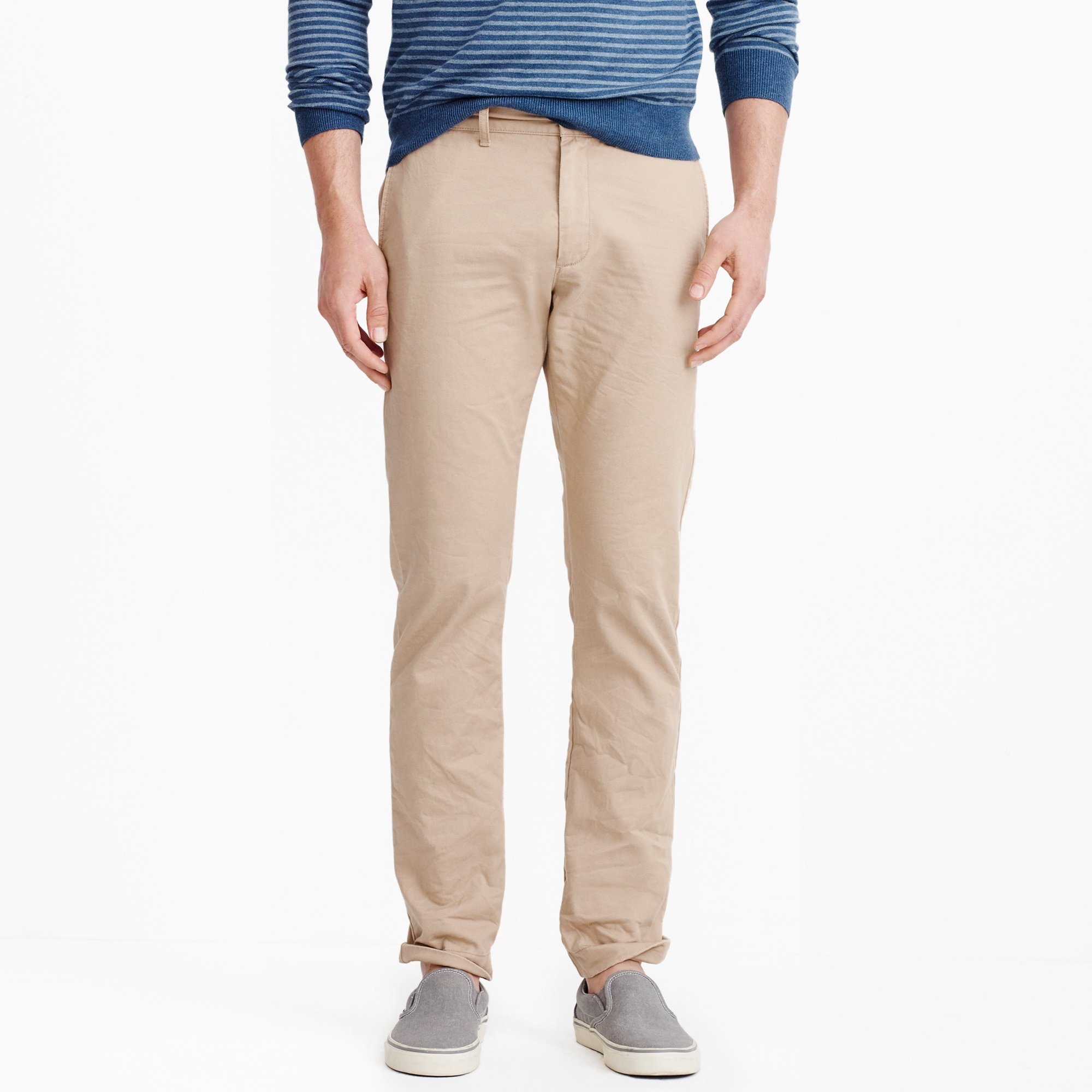 slim-fit broken-in chino : factorymen slim