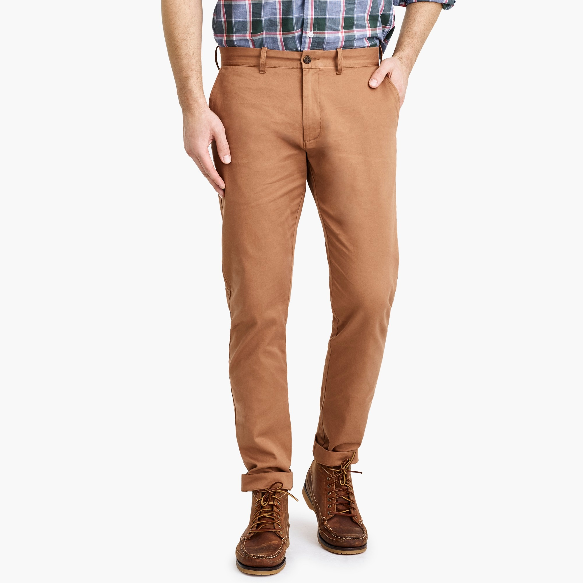 factory mens Slim-fit flex chino