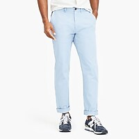 Straight-fit flex chino