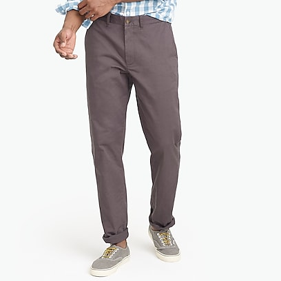 factory mens Straight-fit flex chino