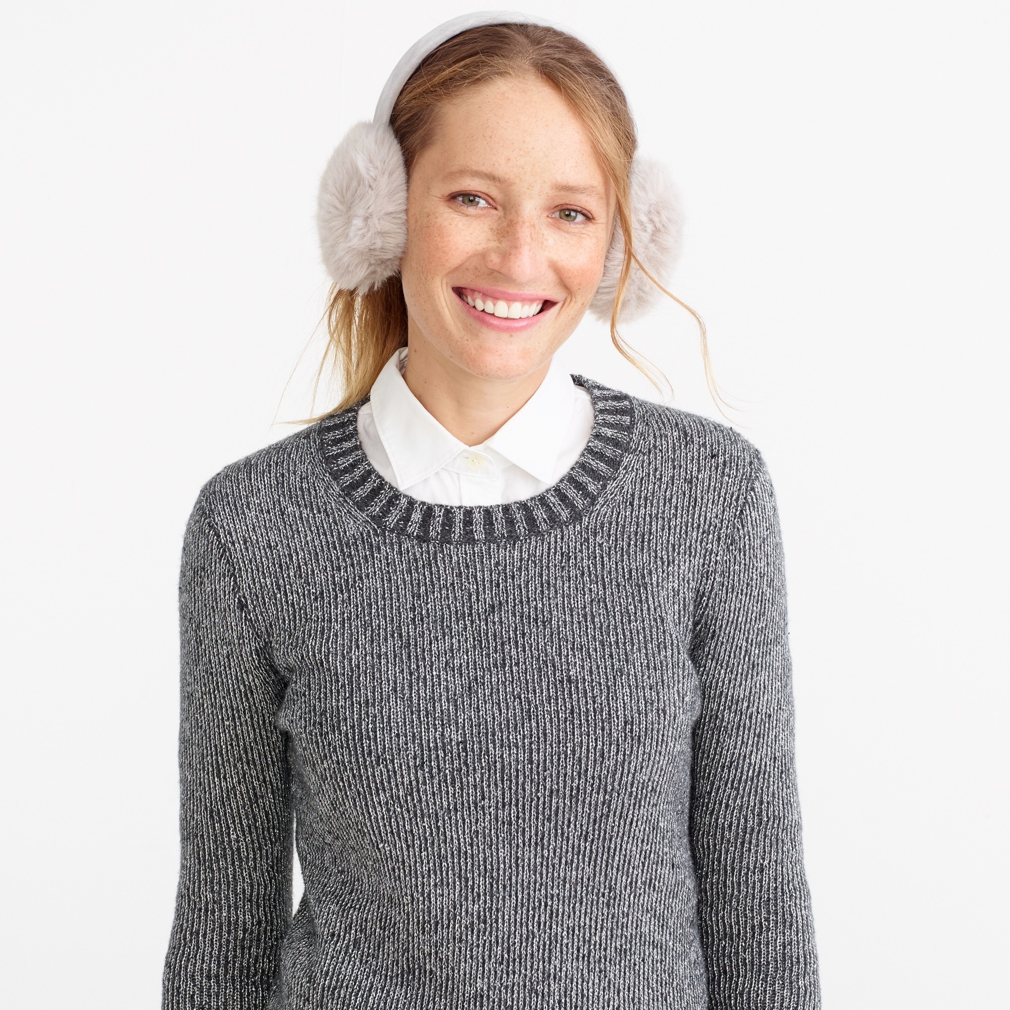 faux-fur earmuffs : factorywomen hats