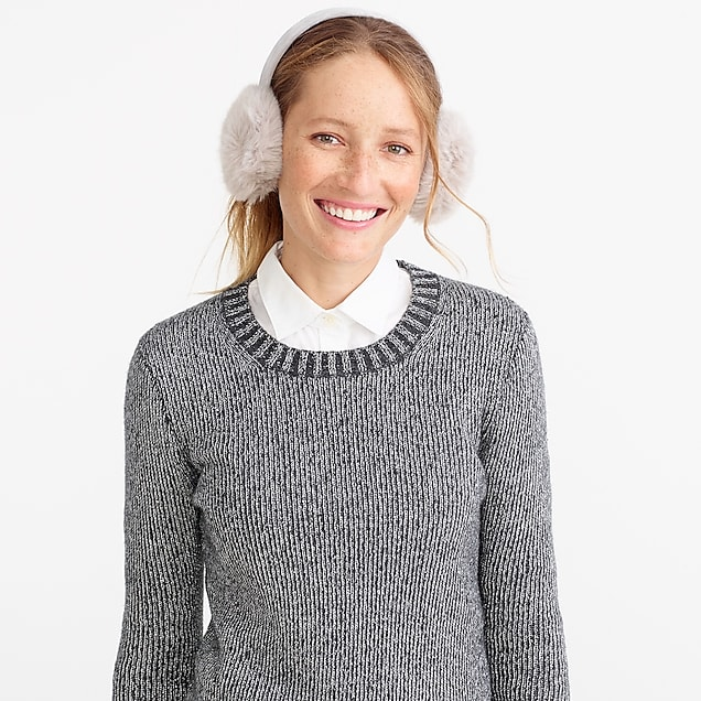 j.crew factory: faux-fur earmuffs
