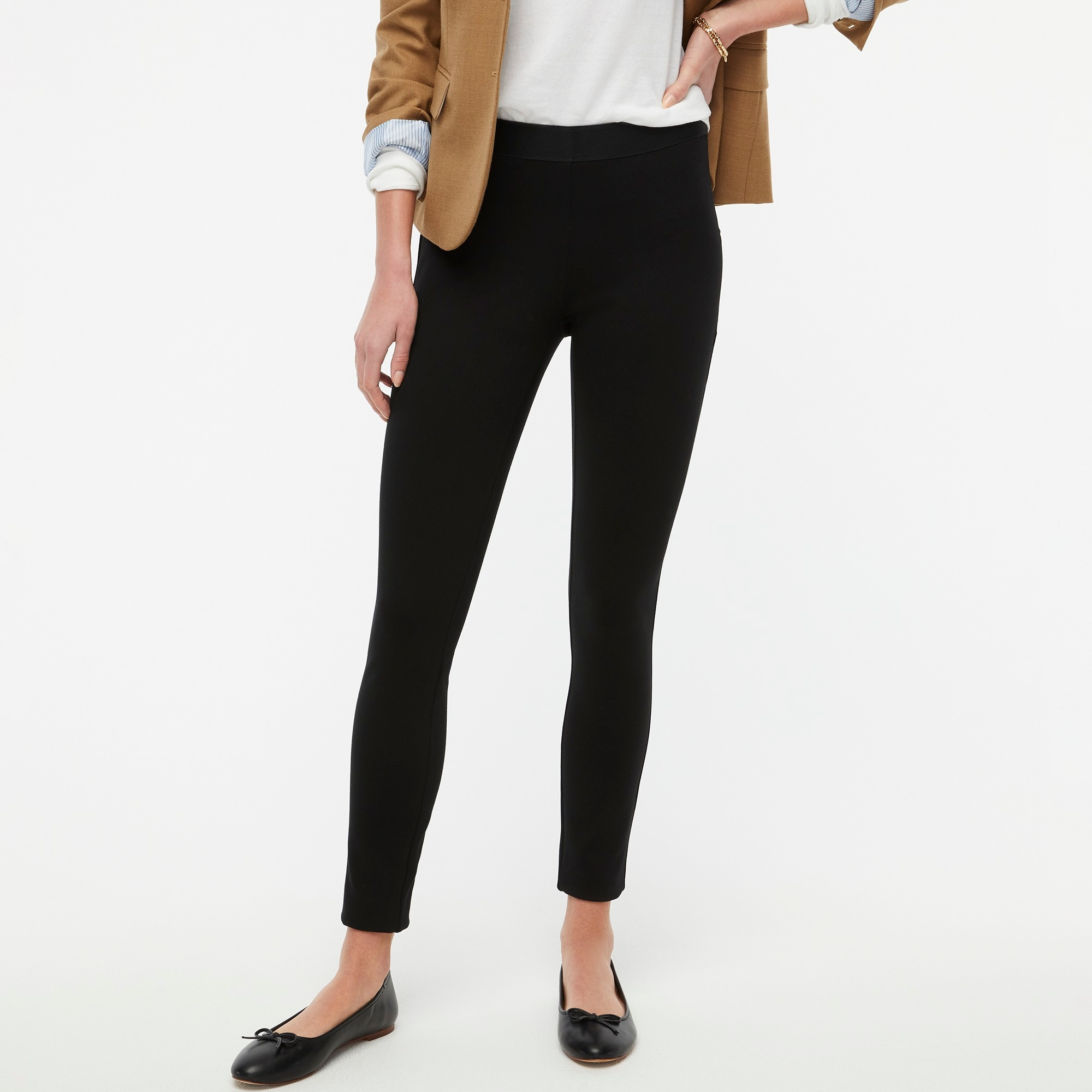factory womens Gigi pant with side-zip closure