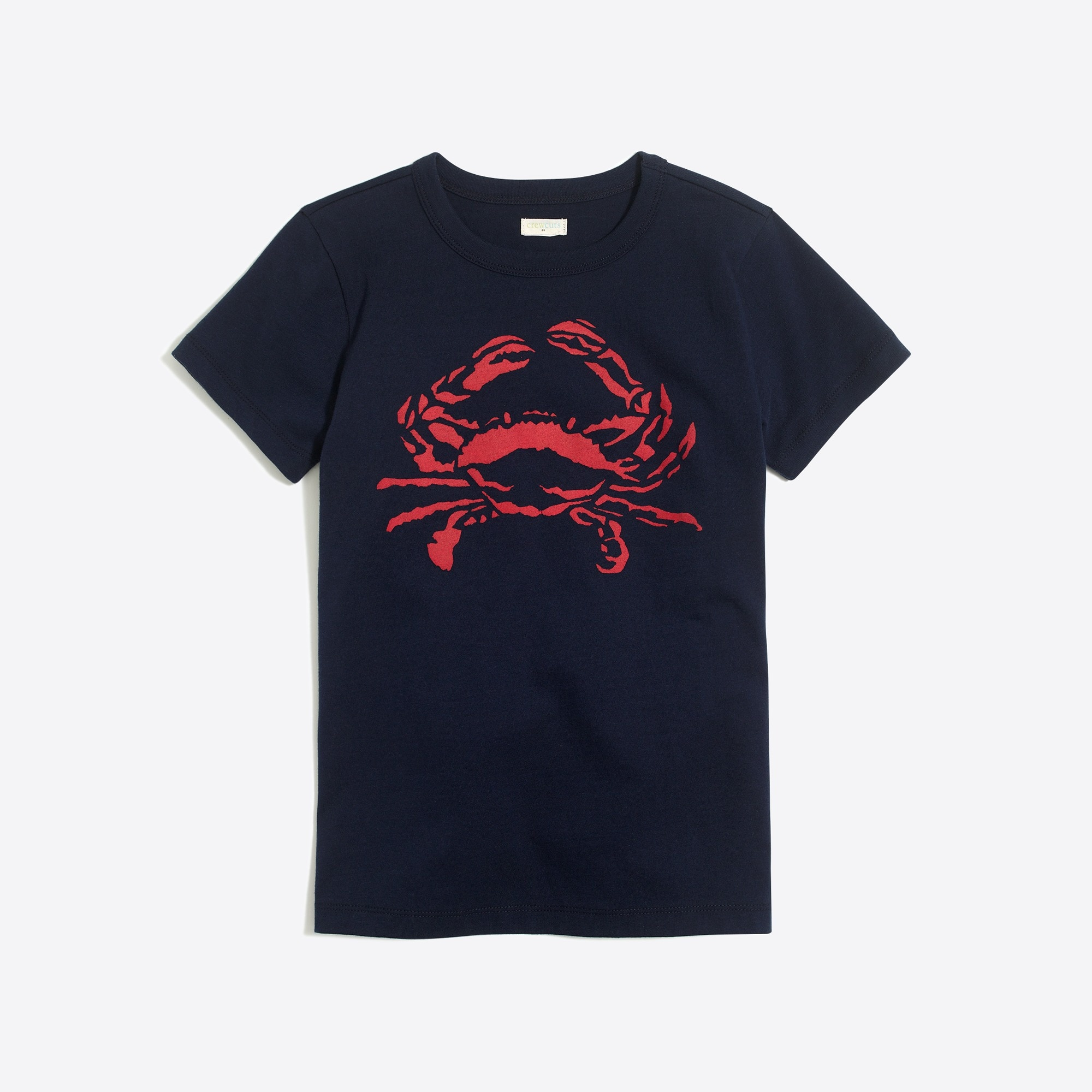 factory boys Boys' short-sleeve crab graphic T-shirt
