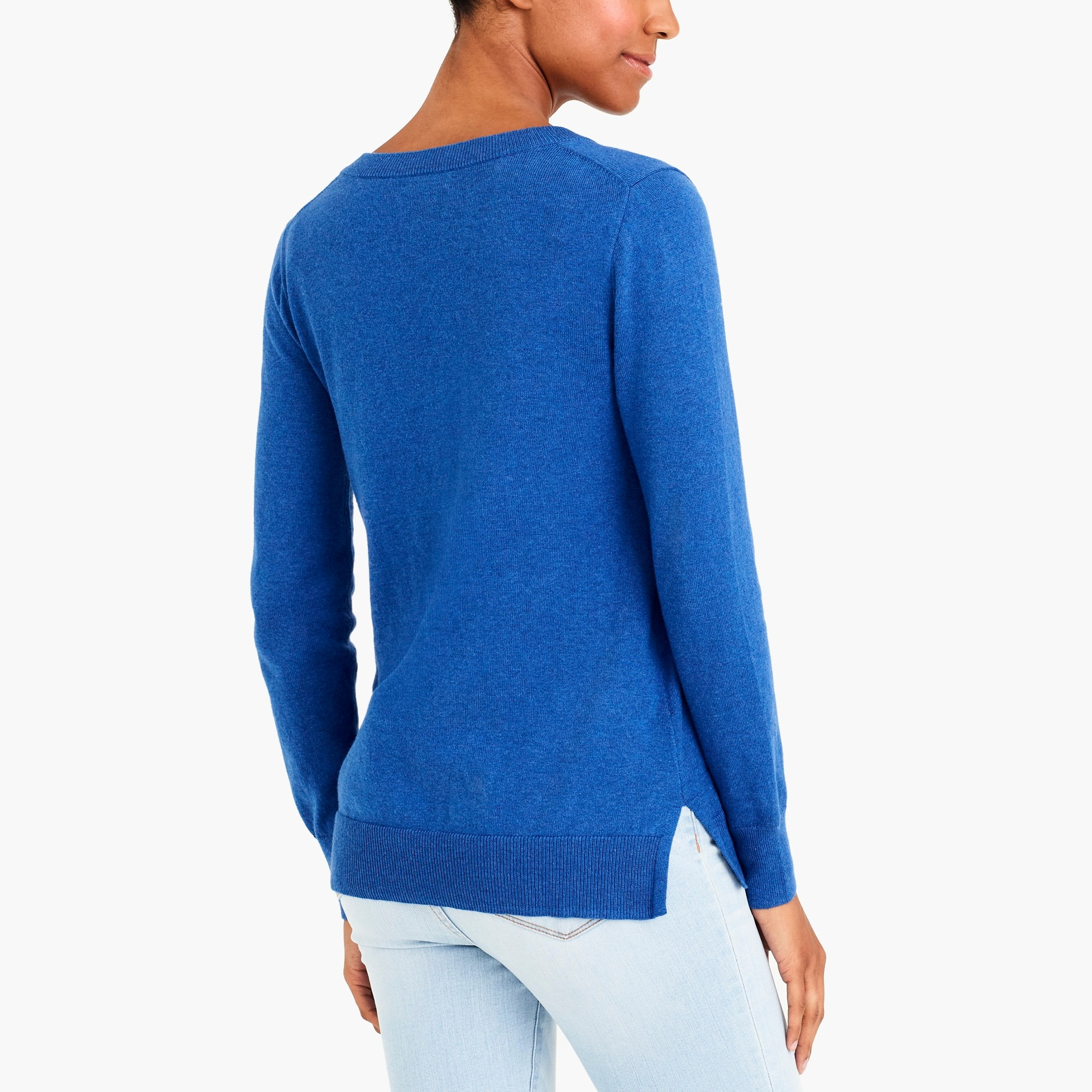 Image 3 for Cotton V-neck sweater