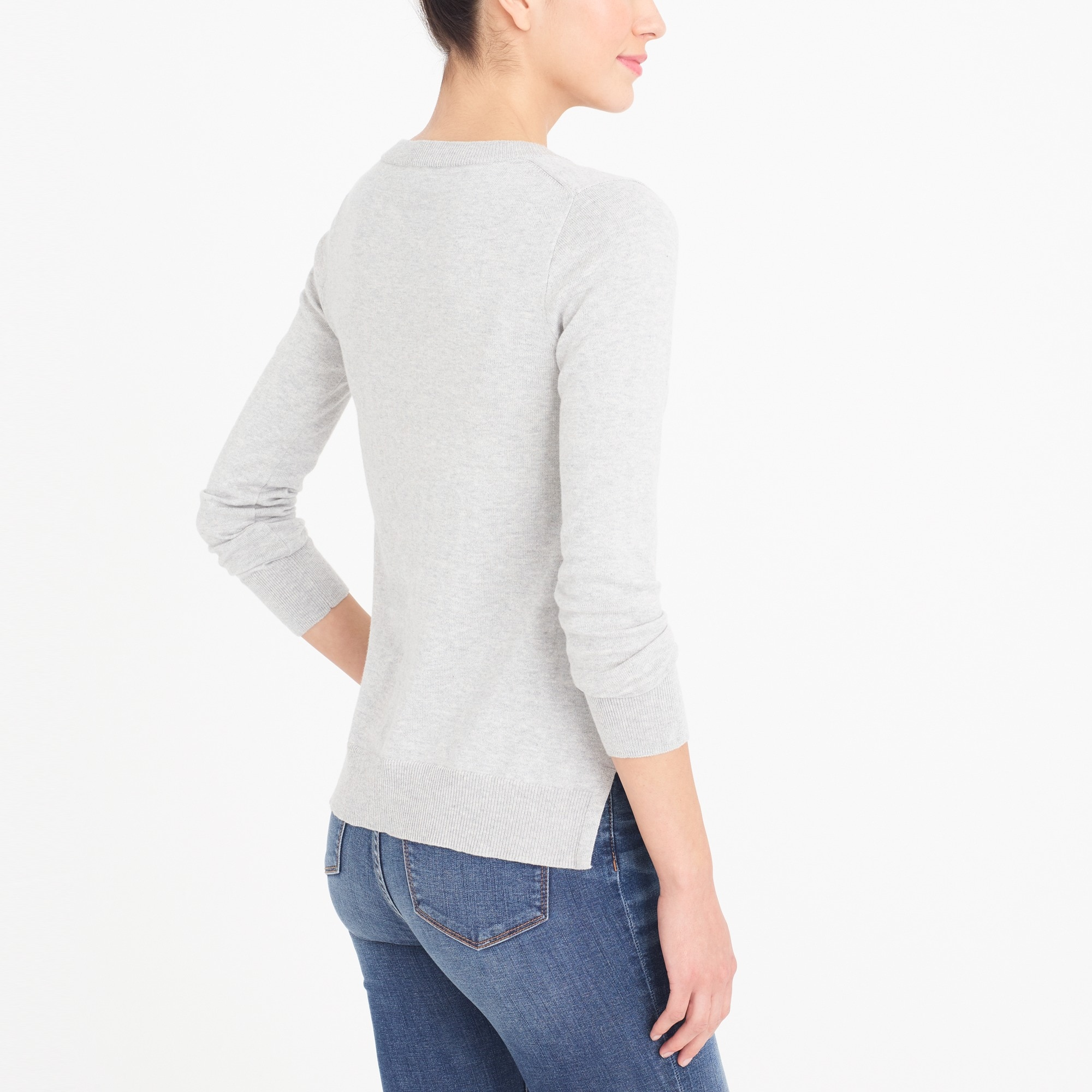 Image 2 for Cotton V-neck sweater