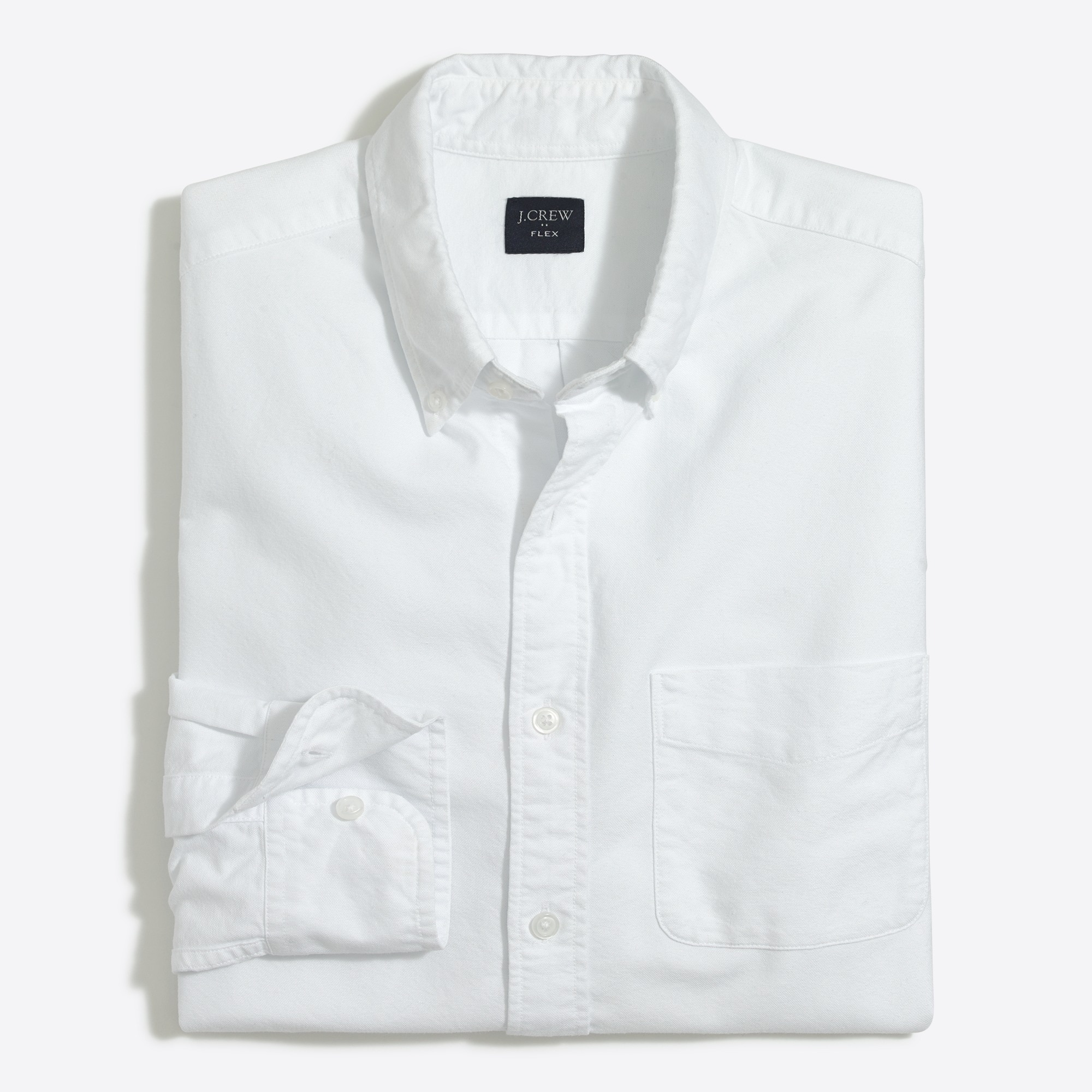 factory mens Slim flex oxford shirt