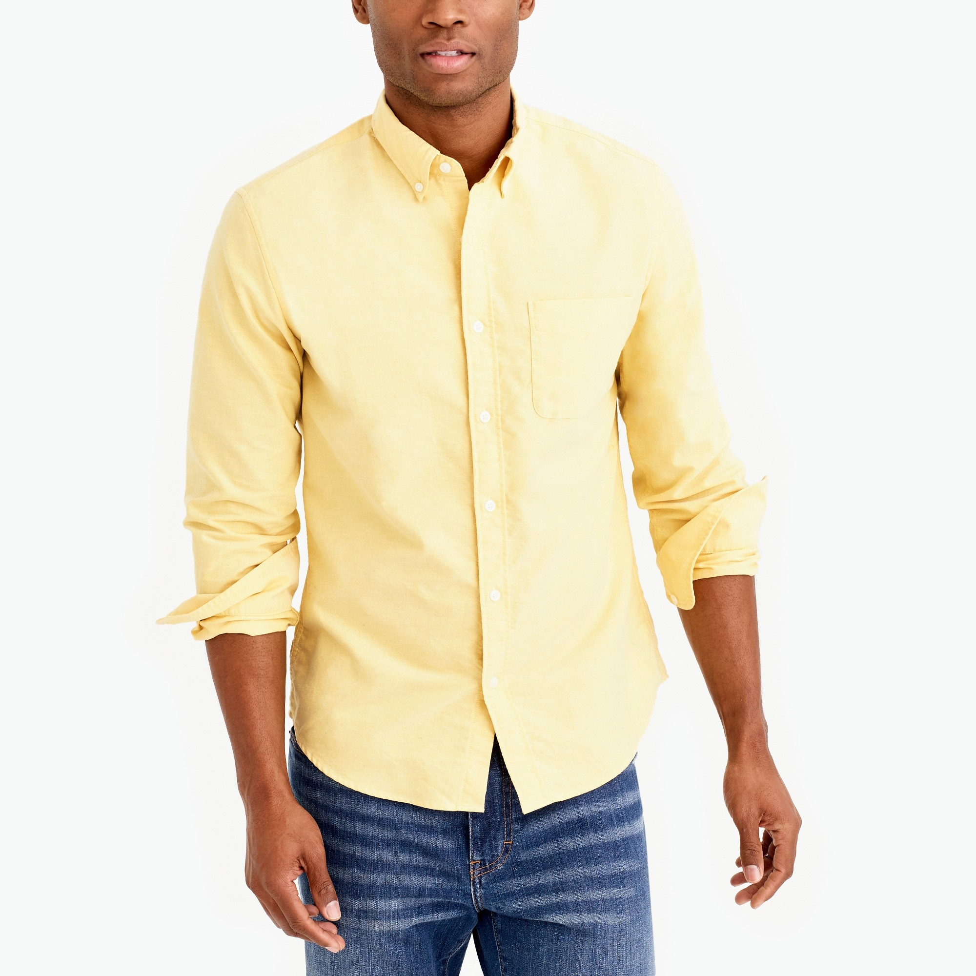 Slim flex oxford shirt factorymen flex collection c