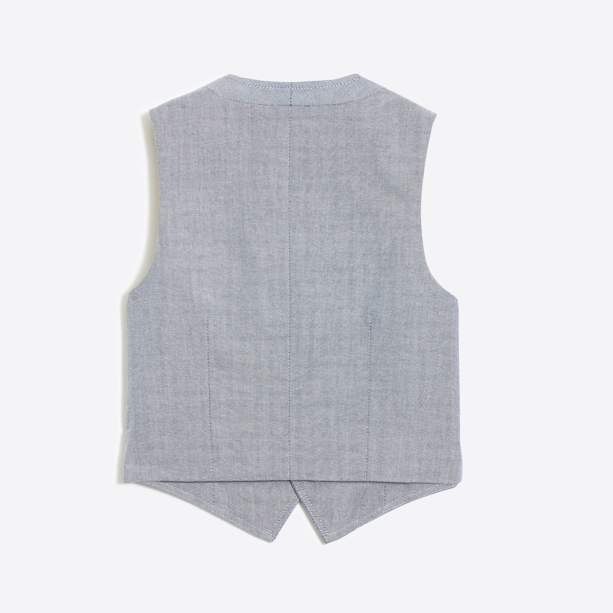 Boys' Thompson vest in oxford
