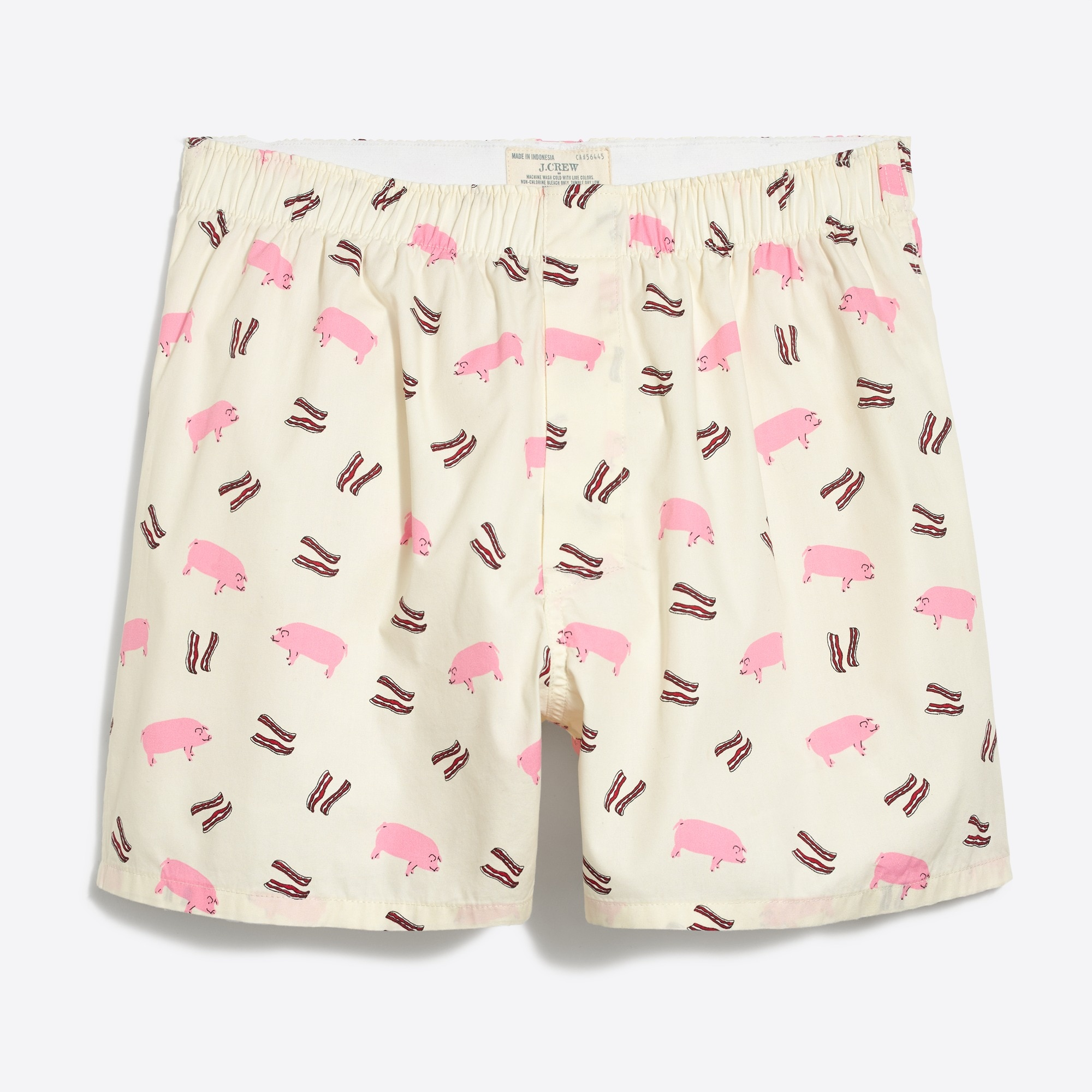 j.crew mercantile pig and bacon boxers : factorymen mercantile woven boxers