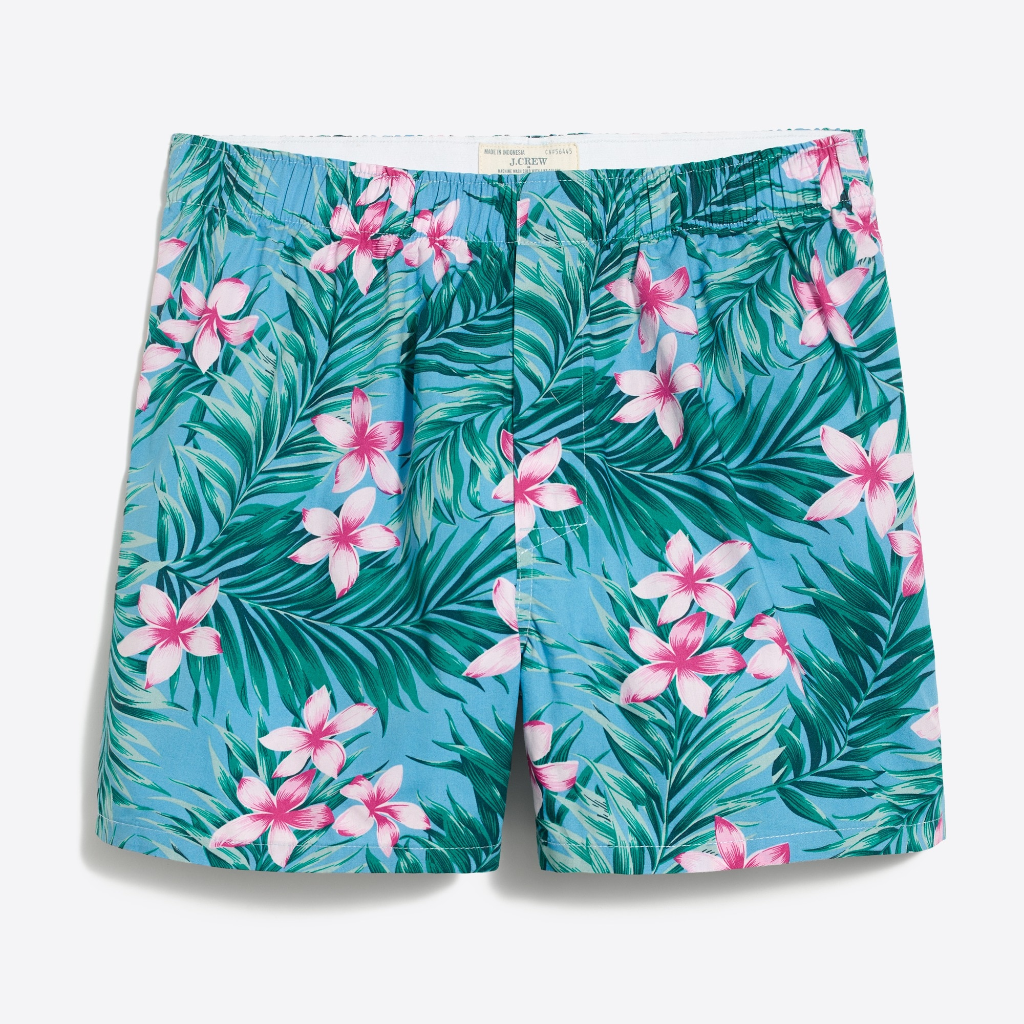 Image 1 for J.Crew Mercantile jungle fern boxers