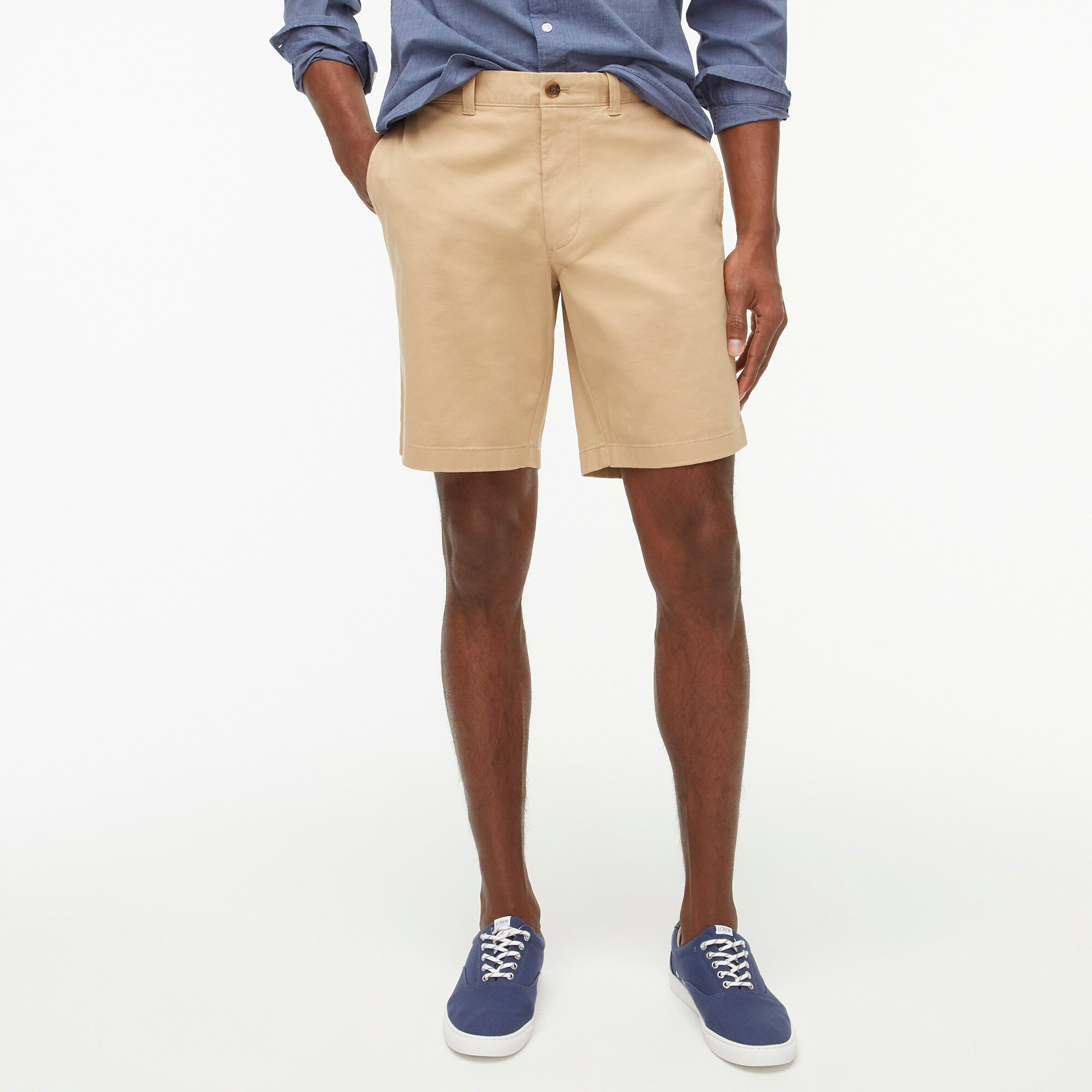 "factory mens 9"" Gramercy flex chino short"
