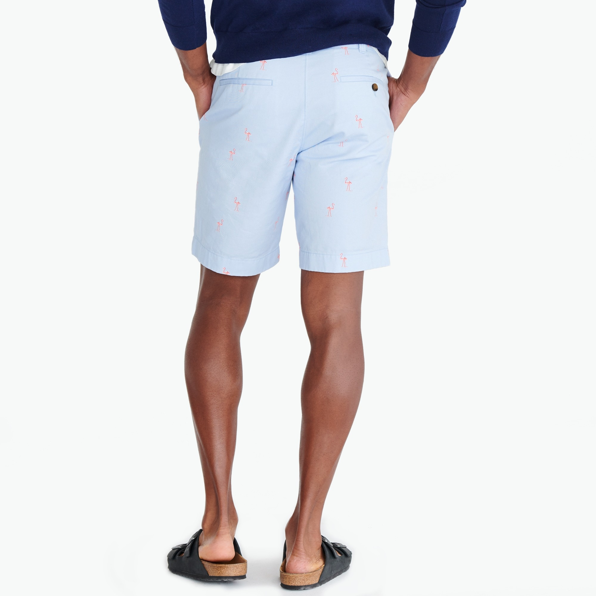 "Image 3 for 9"" Gramercy printed chino short"