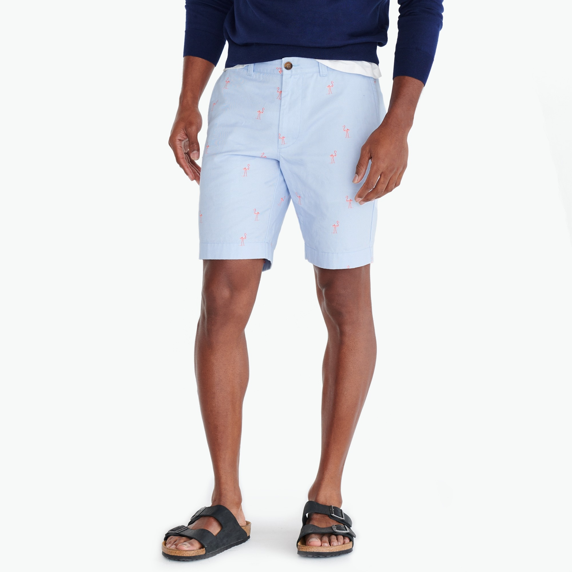 "Image 1 for 9"" Gramercy printed chino short"
