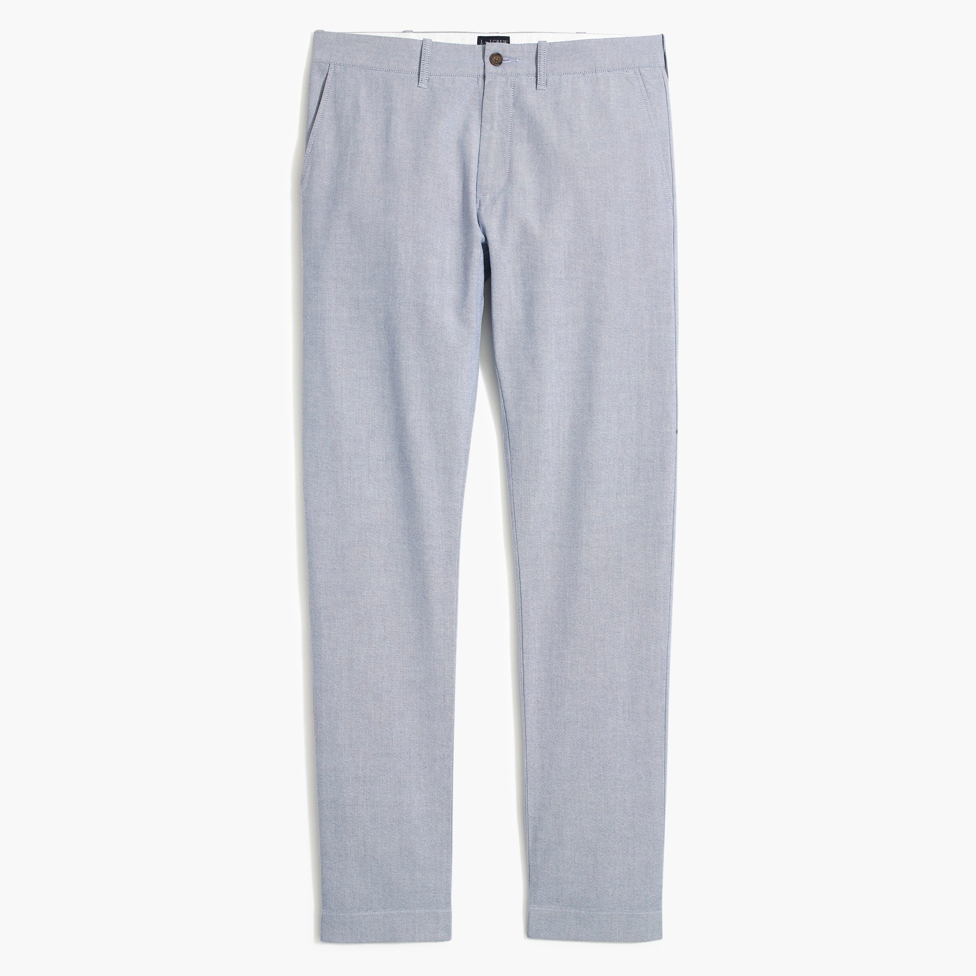 factory mens Driggs slim-fit pant in Oxford cloth