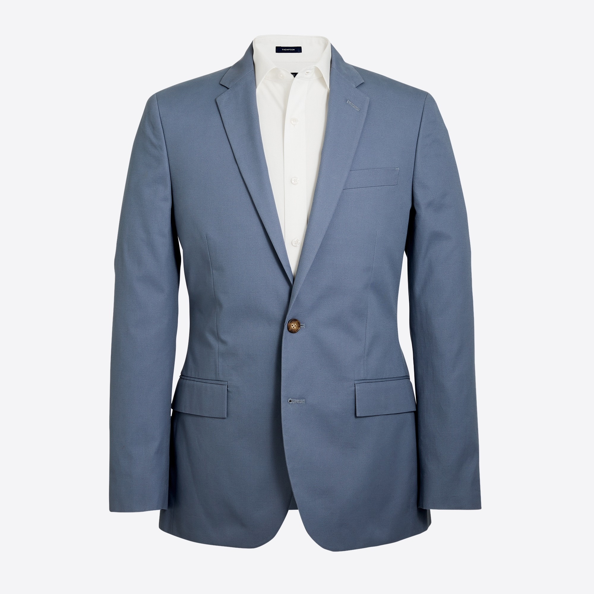Image 2 for Slim-fit Thompson suit jacket in chino