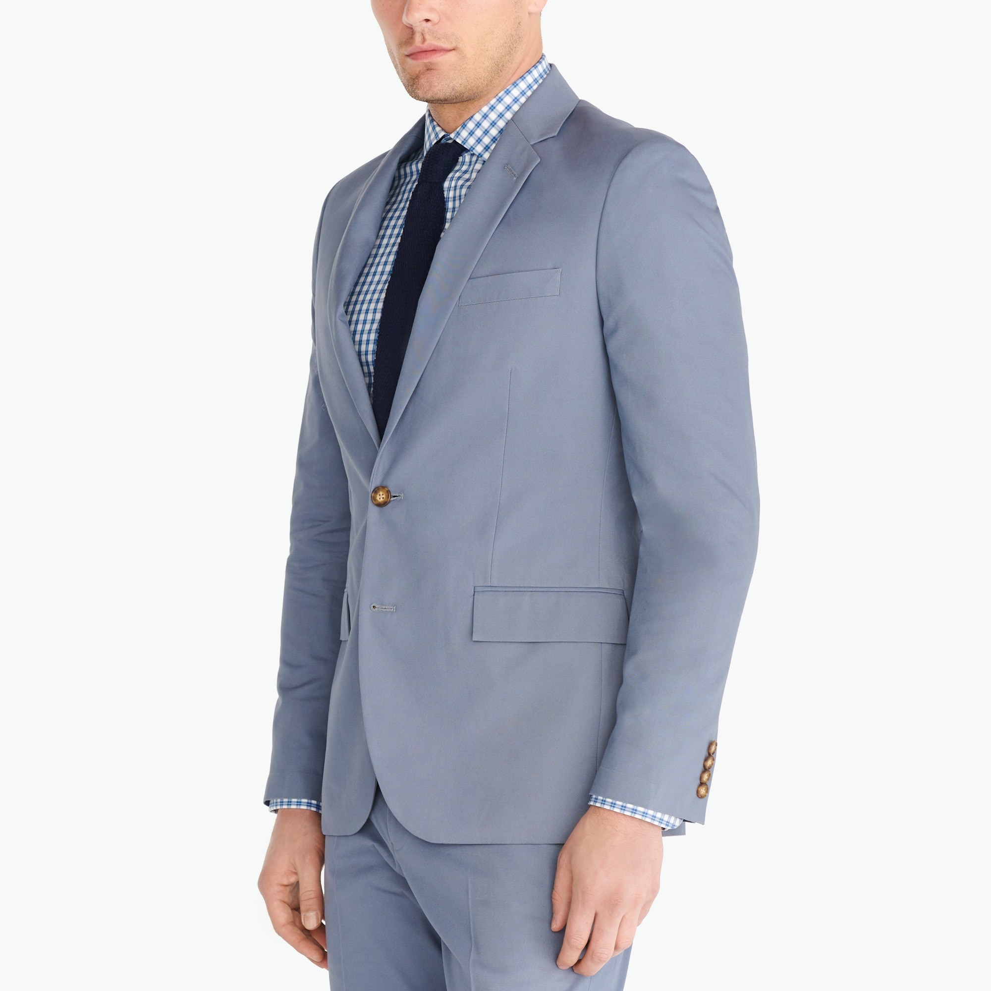 Slim-fit Thompson suit jacket in chino