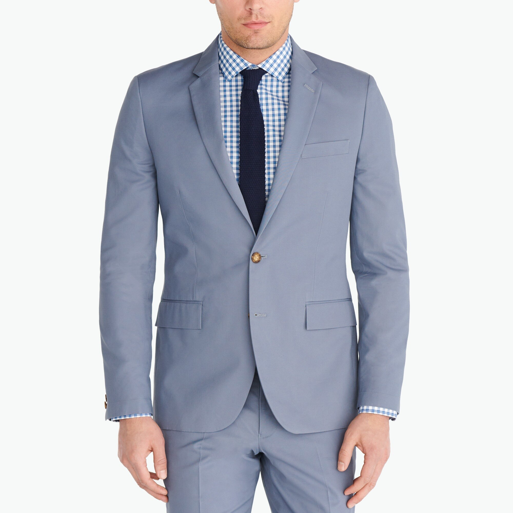 Image 1 for Slim-fit Thompson suit jacket in chino
