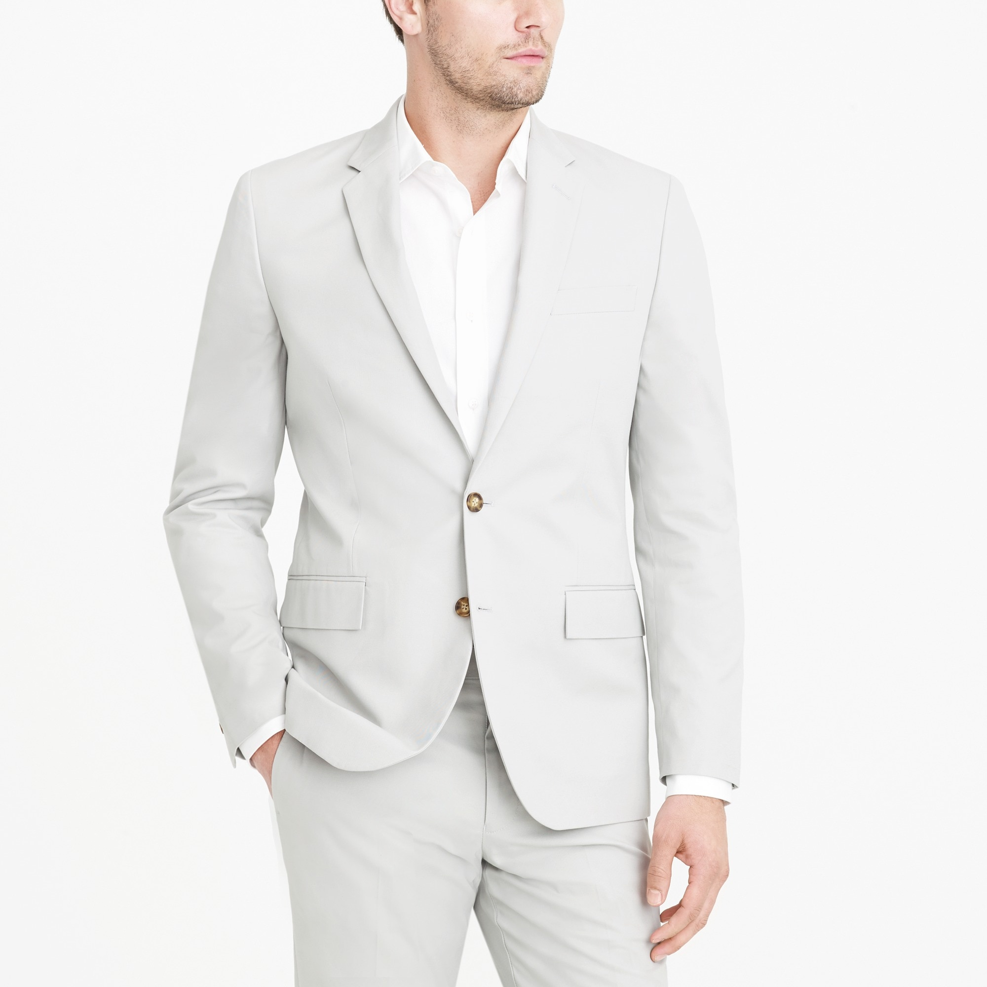 Slim-fit Thompson suit jacket in chino factorymen thompson suits & blazers c