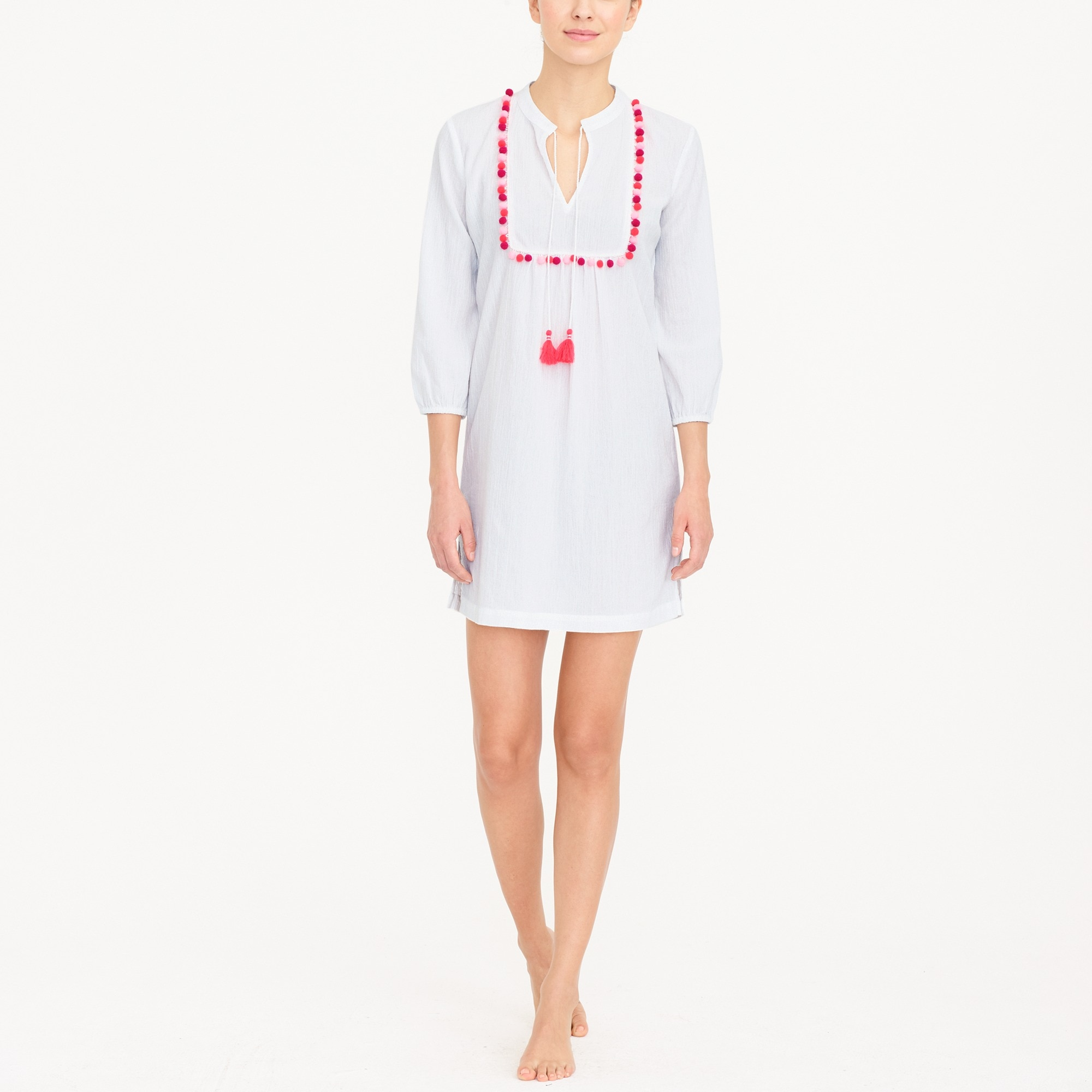 pom-pom tunic cover-up : factorywomen cover-ups