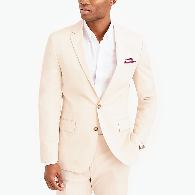 j.crew factory: slim-fit thompson suit jacket in flex chino