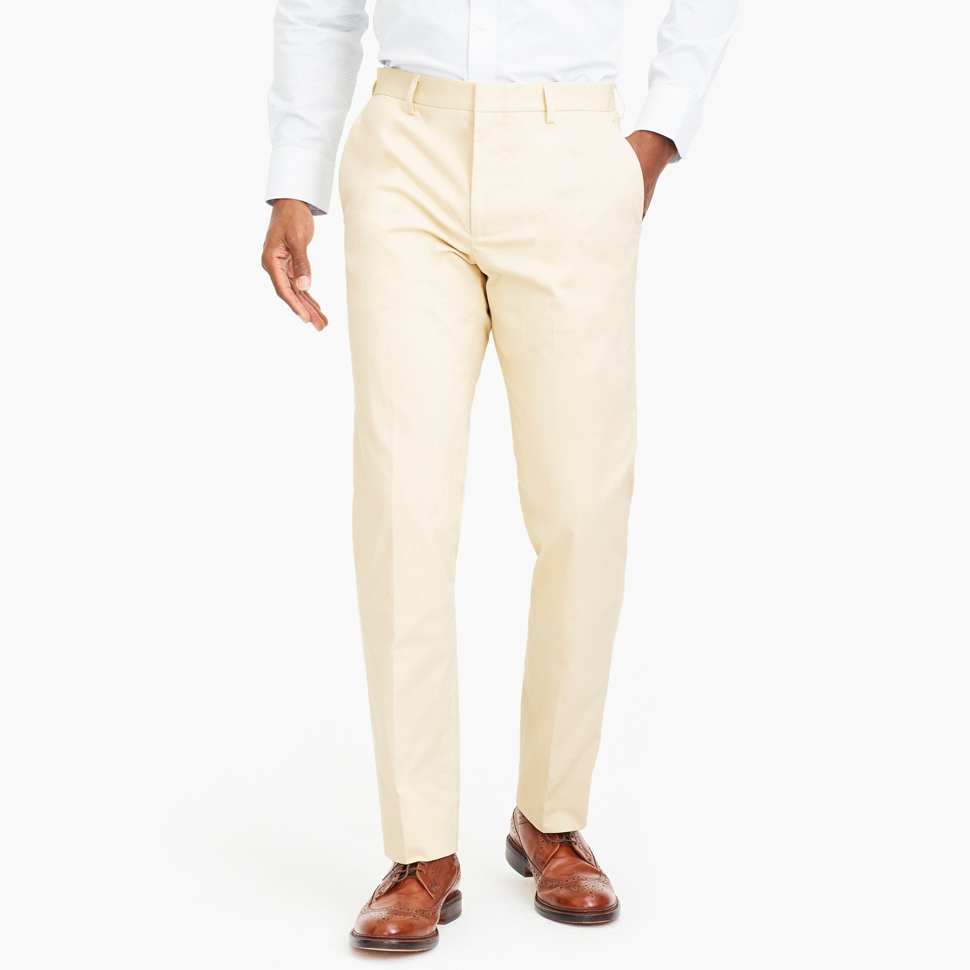 slim-fit thompson suit pant in flex chino : factorymen wear-to-work shop