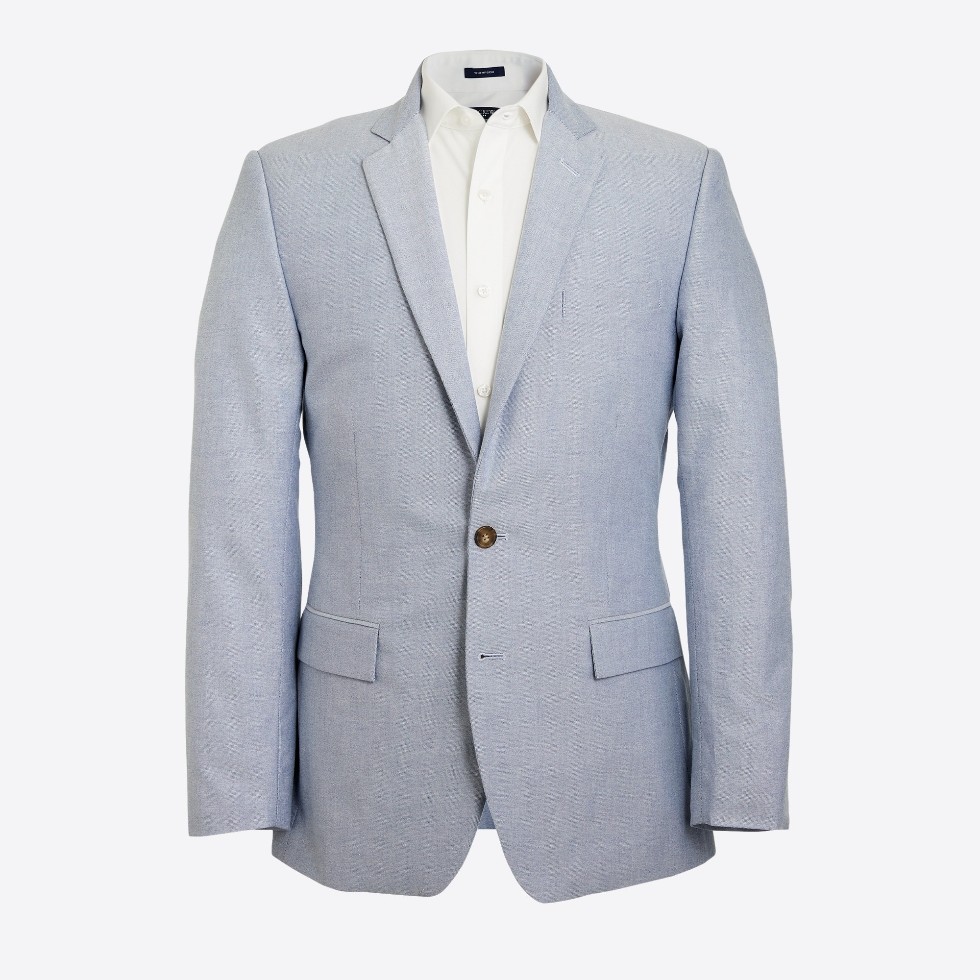 Slim-fit Thompson suit jacket in oxford cloth